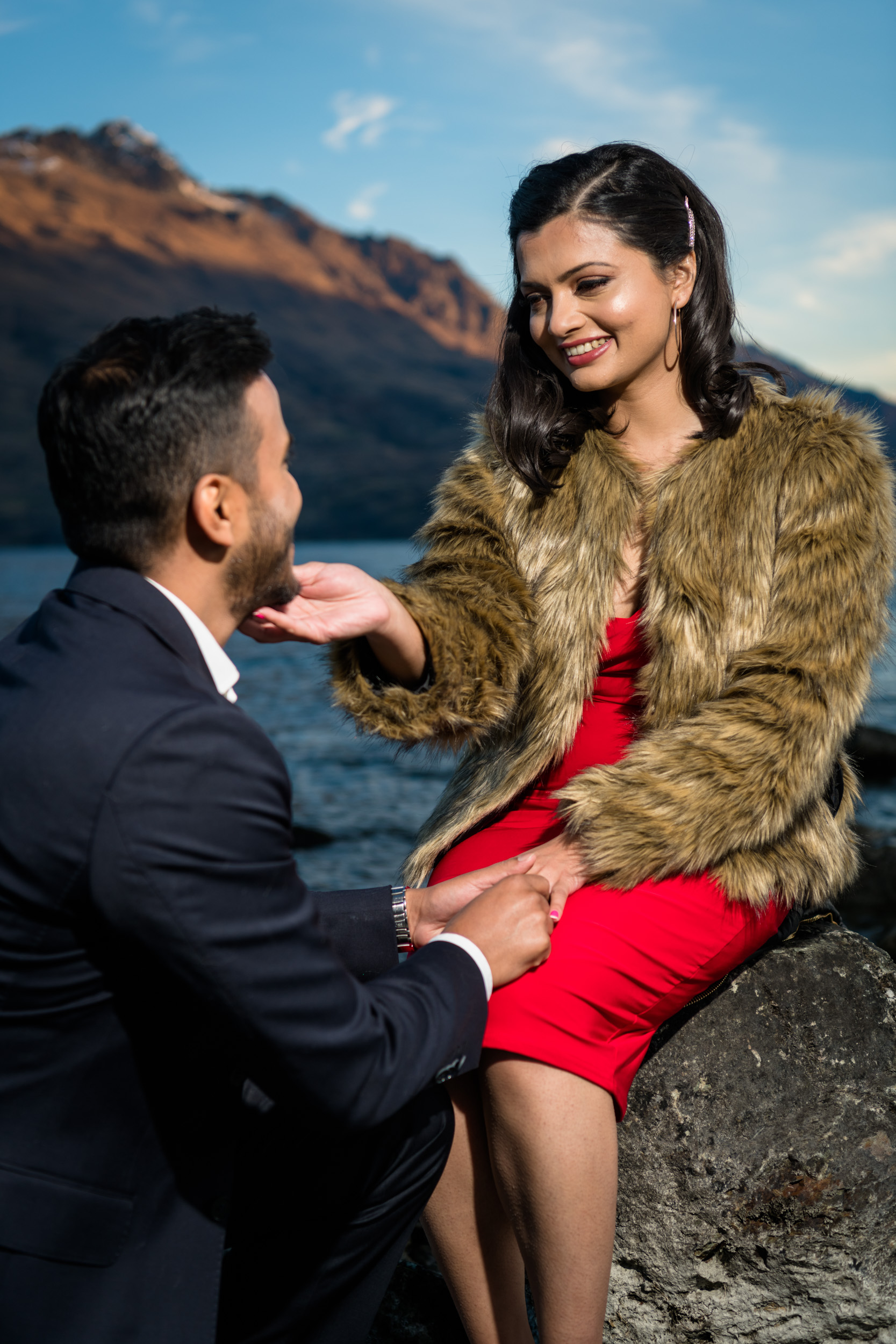 True Love - Lakeside Queenstown New Zealand - Professional Photography Capturing your Special Day