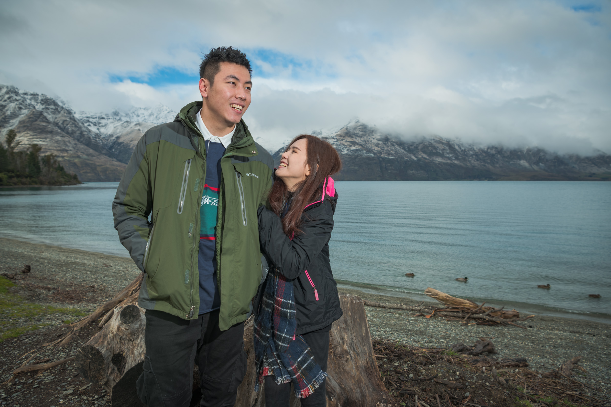 Wilson Bay - Queenstown NZ - The perfect place to get used to the camera to get the best professional travel photographs