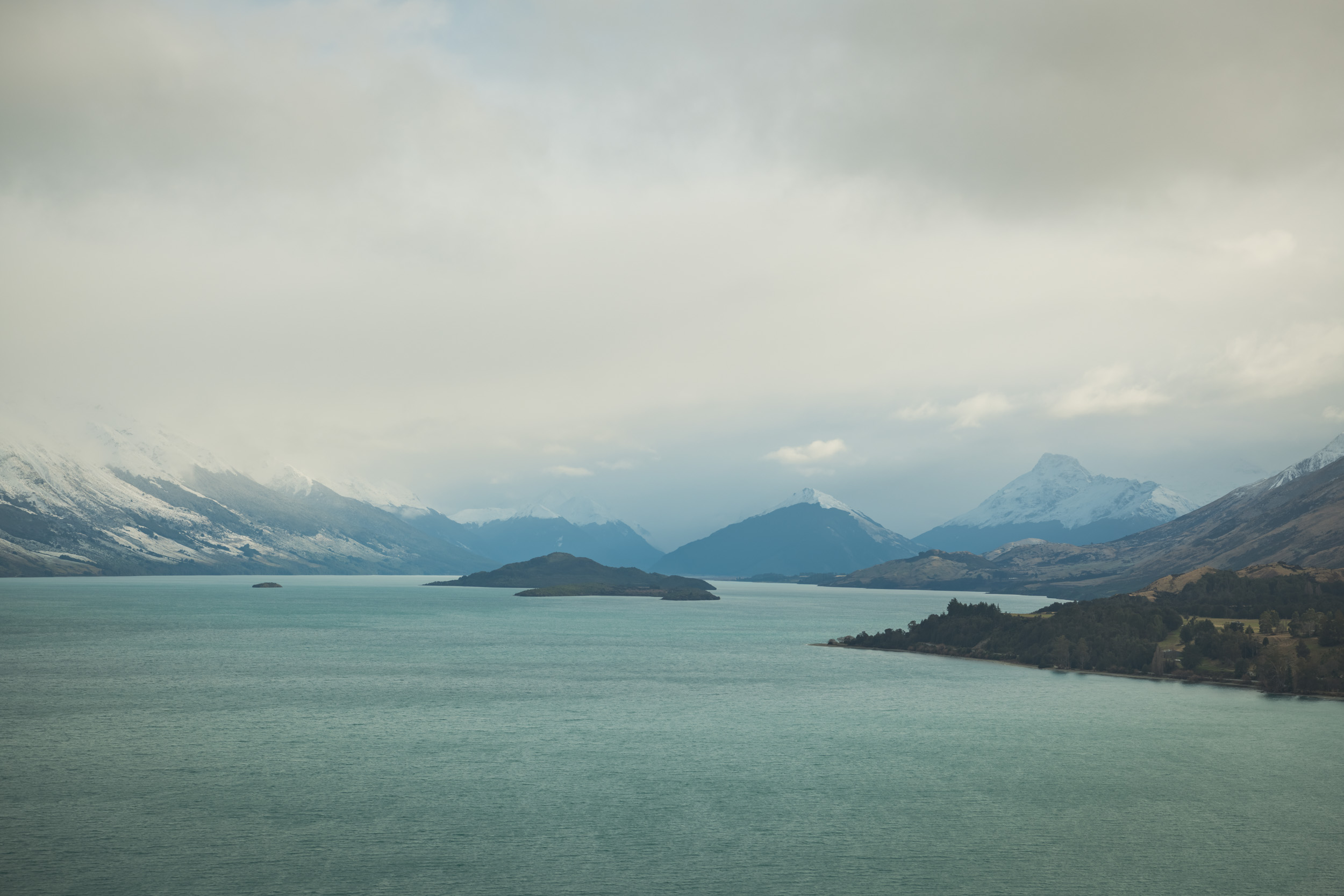 Bennets Bluff Lookout on the Road to Glenorchy, Queenstown NZ. Professional Landscape Photographs included in your trip pacakge