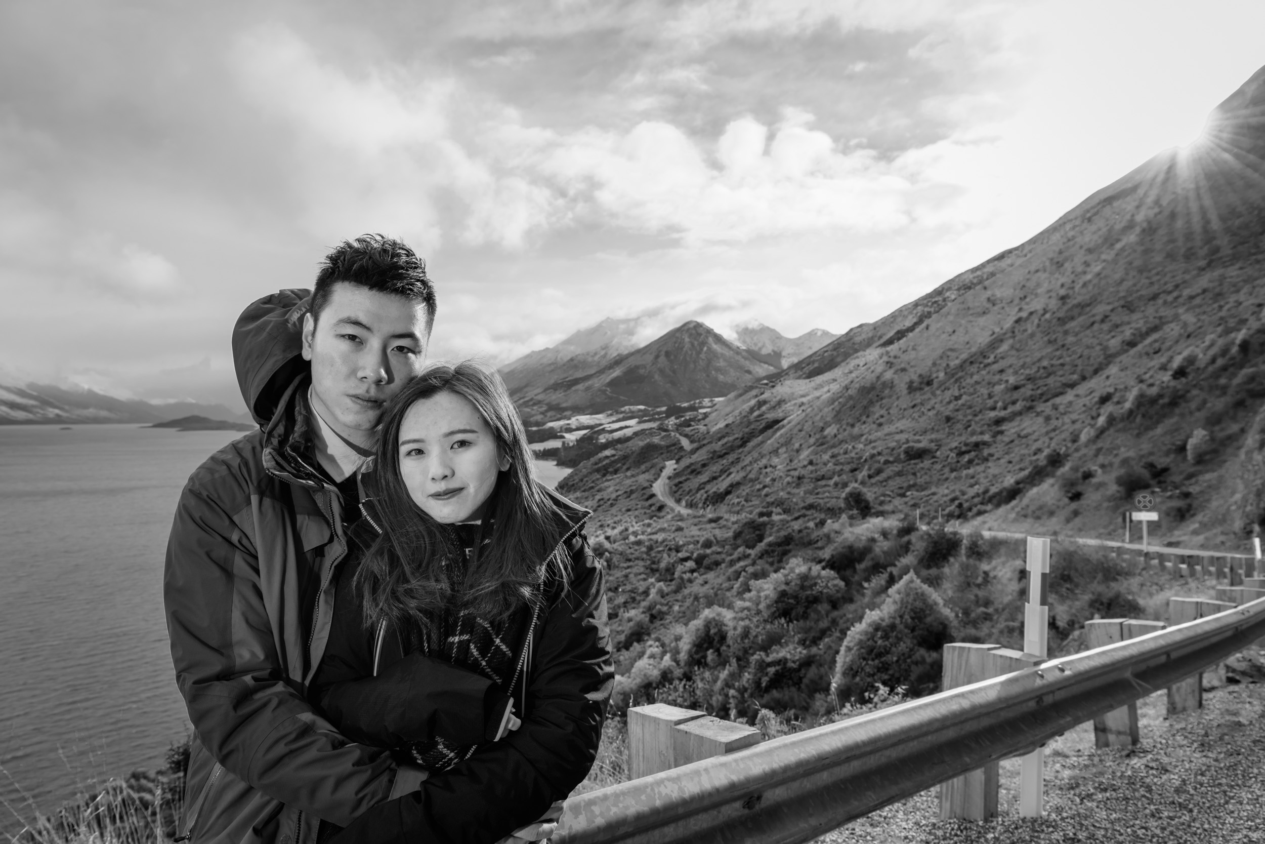 Professional Portrait Photographs - Private Charter 4WD Tours - Queenstown New Zealand