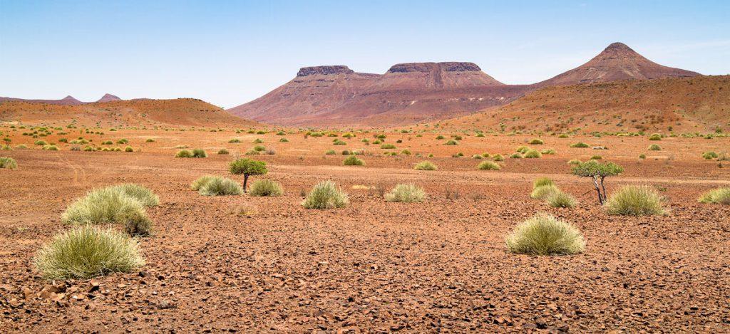 A photograph that was taken near to Springbokwasser, Namibia