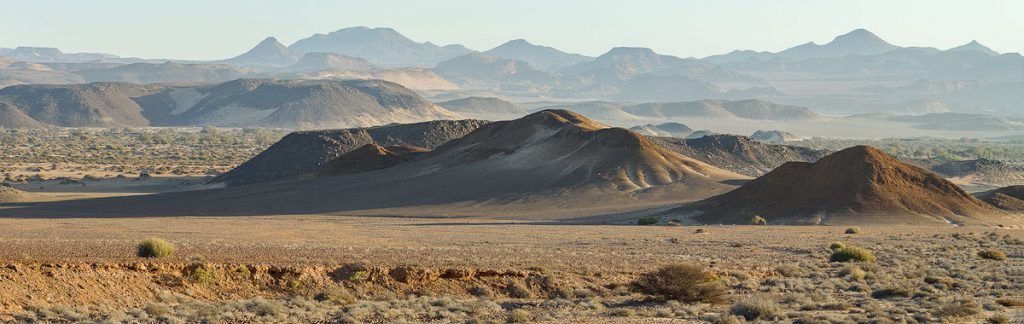 The view of the Huab River Valley from our campsite.