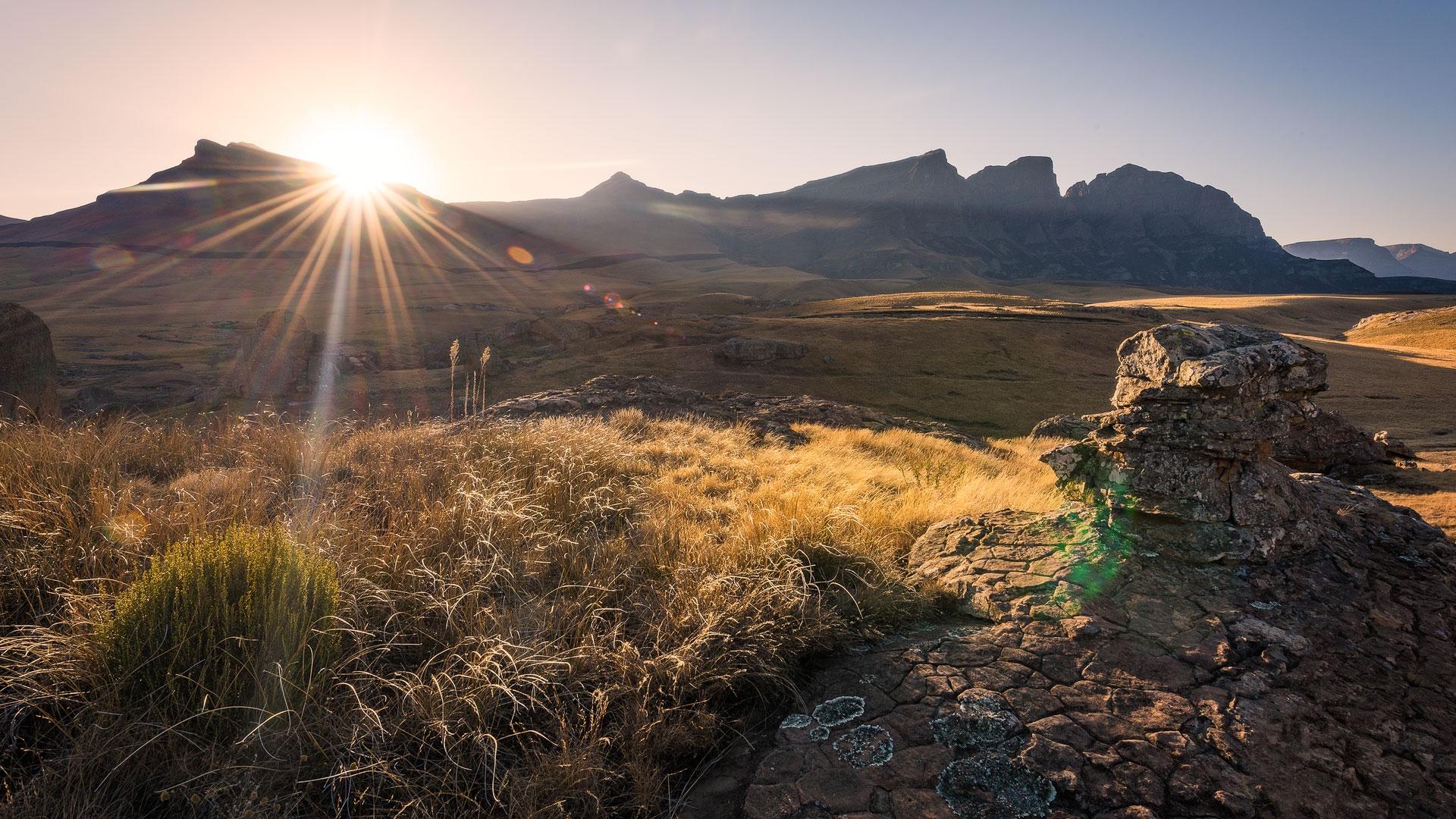 Sehlabathebe Sunset (Photo By: Rob Devereux)