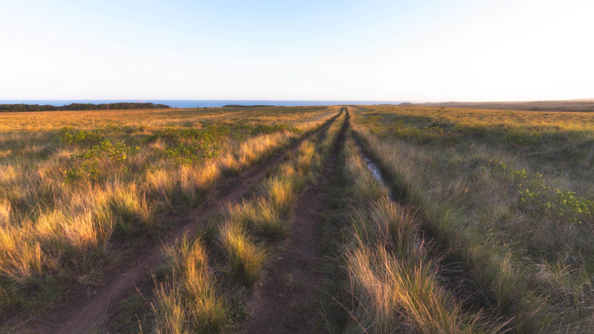 The road to Strandloper Falls