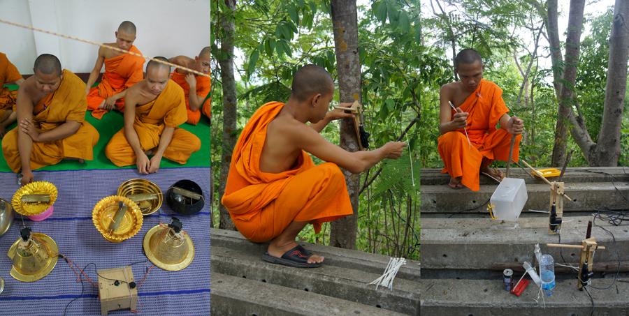 Soundtracks , Dylan Martorell robot instrument making workshop Compeung, Thailand 2012