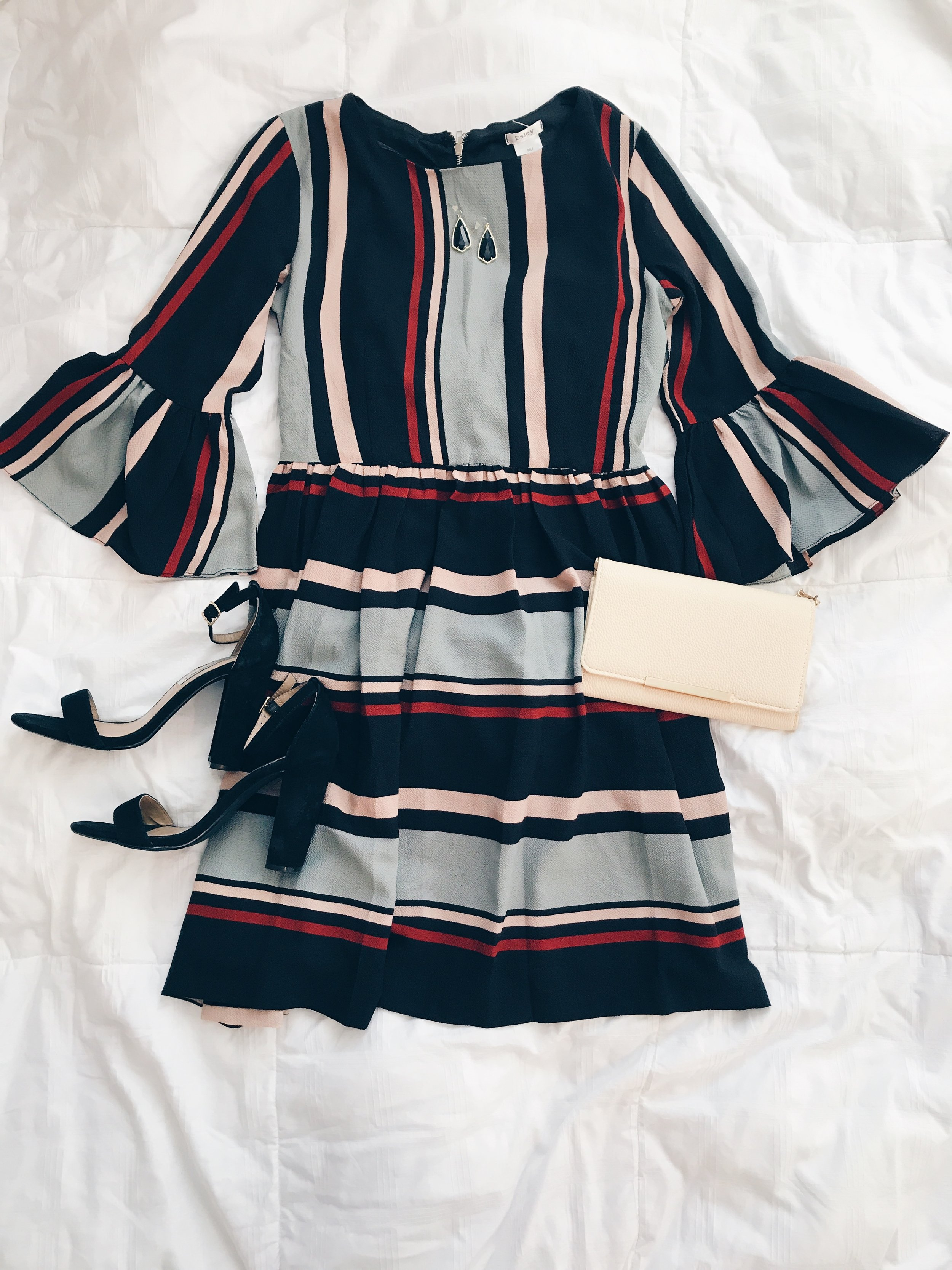 - Dress|| Heels || Earrings || Clutch*Use the code TRENDY10 for 10% off October 2 - October 9 at Magnolia Boutique.