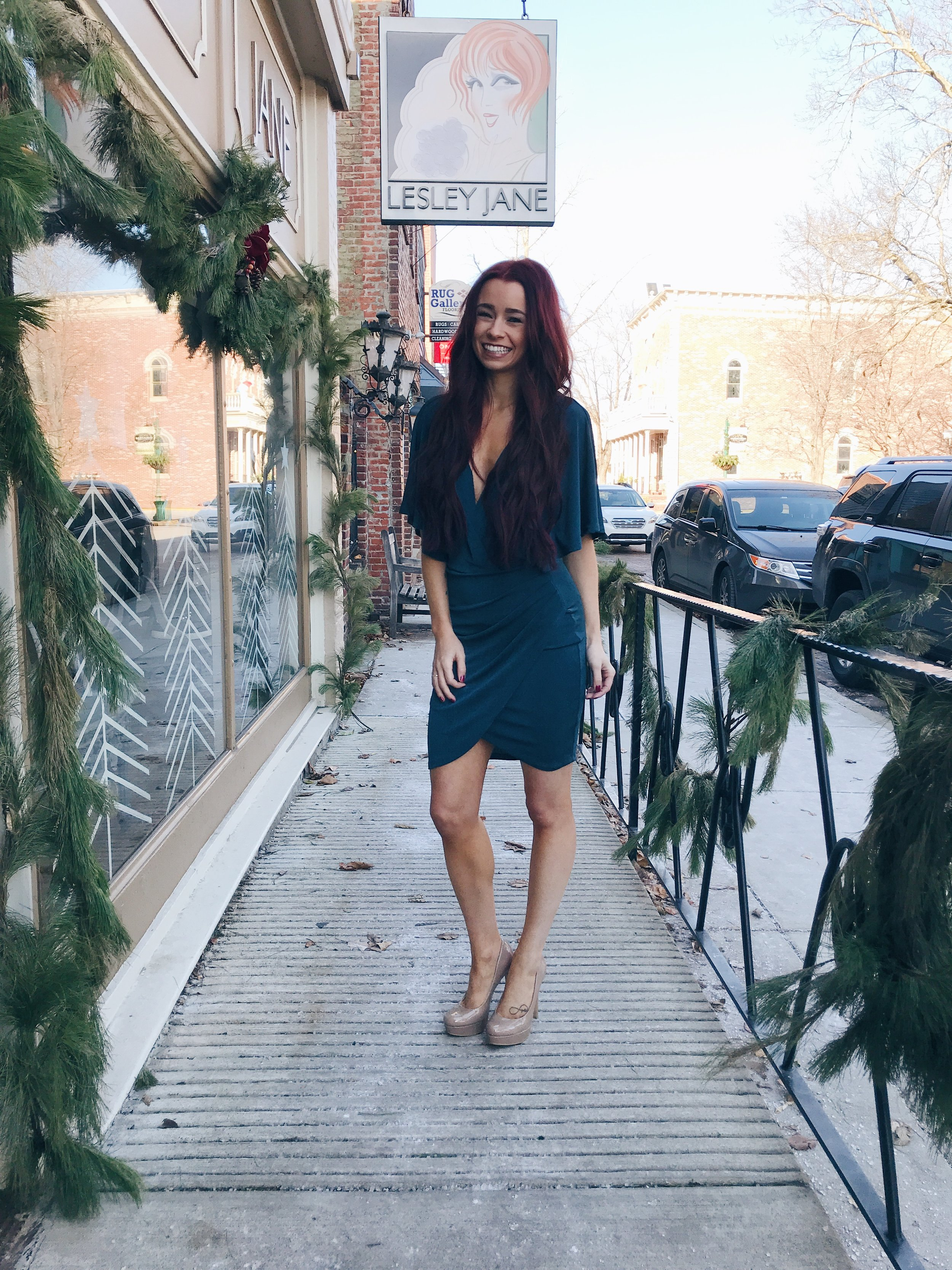 New Years Eve Outfit with Lesley Jane by Indianapolis fashion blogger Trendy in Indy