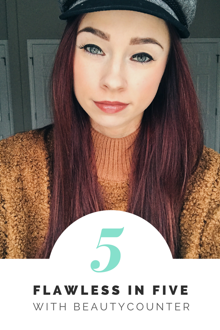 beautycounter.png - Flawless 5 Minute Makeup with Beautycounter by popular Indianapolis beauty blogger Trendy in Indy
