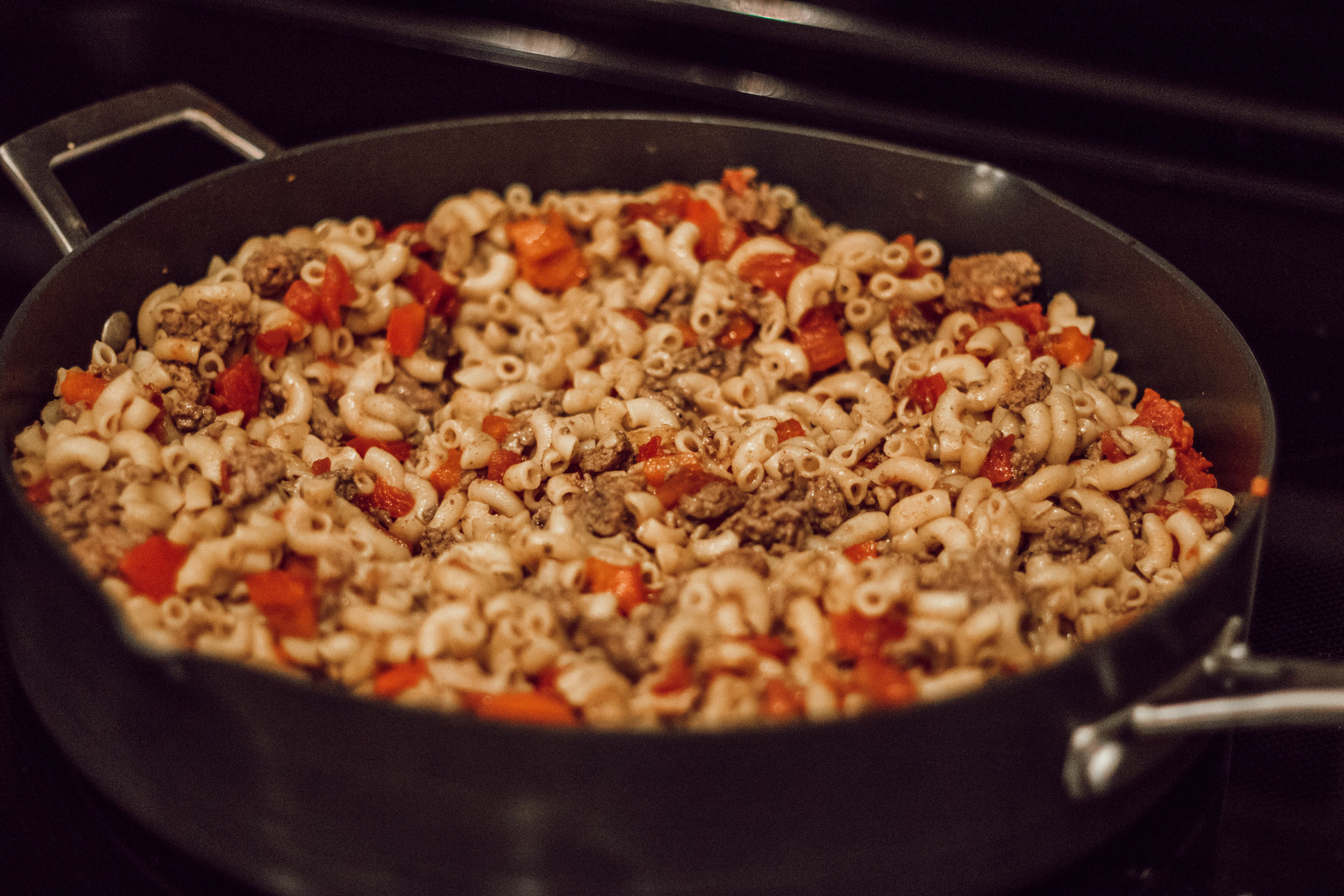 30 Minute Taco Skillet Recipe by popular Indianapolis lifestyle blogger Trendy in Indy