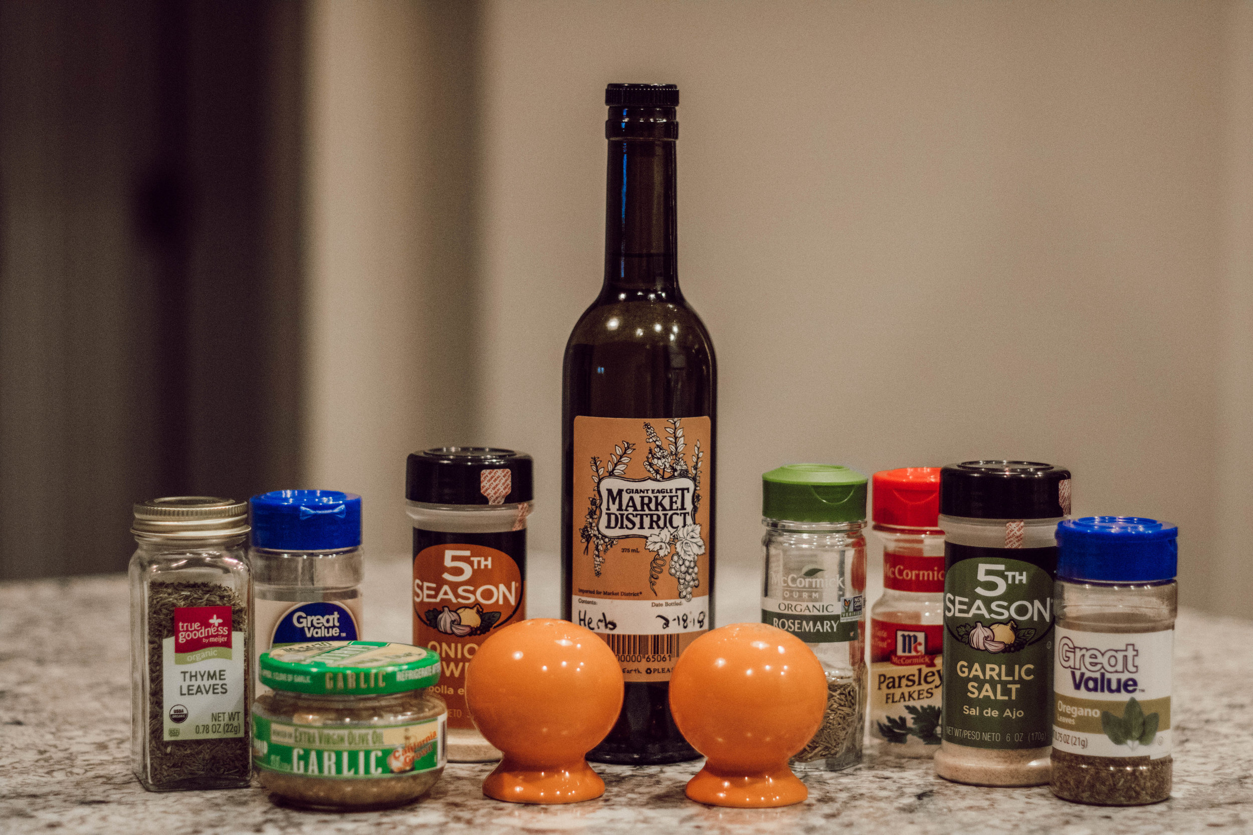 One Pan Dinner for Four by popular Indianapolis lifestyle blogger Trendy in Indy