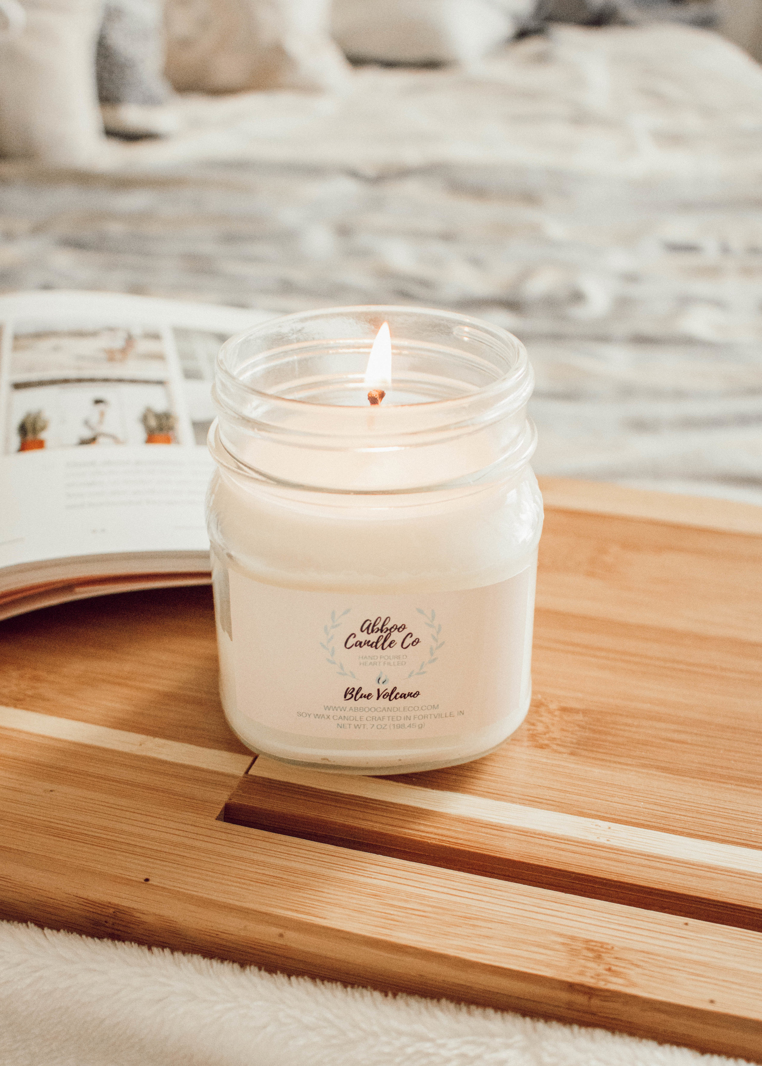 Spring Cleaning Tips with Abboo Candle Co. by popular Indianapolis blogger Trendy in Indy