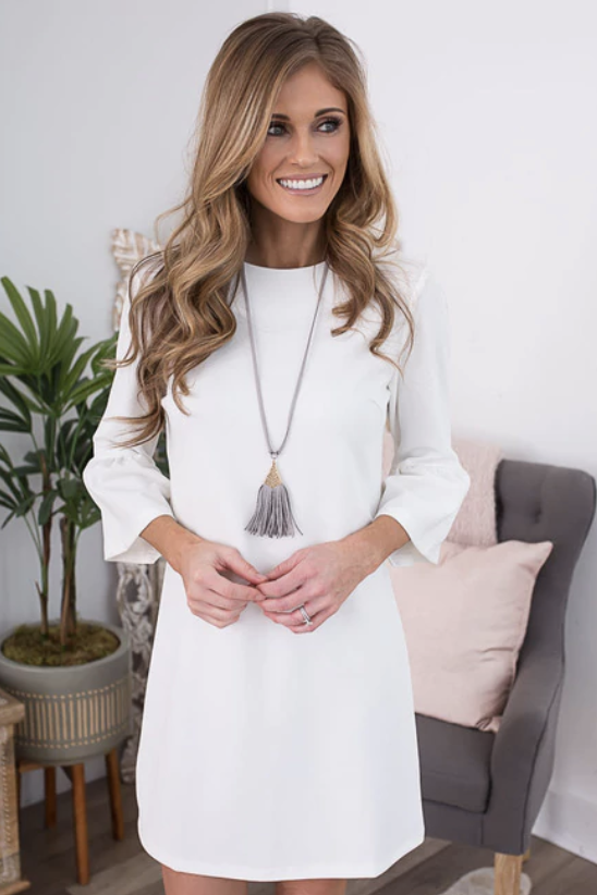 White Dress Guide by popular Indianapolis fashion blogger Trendy in Indy