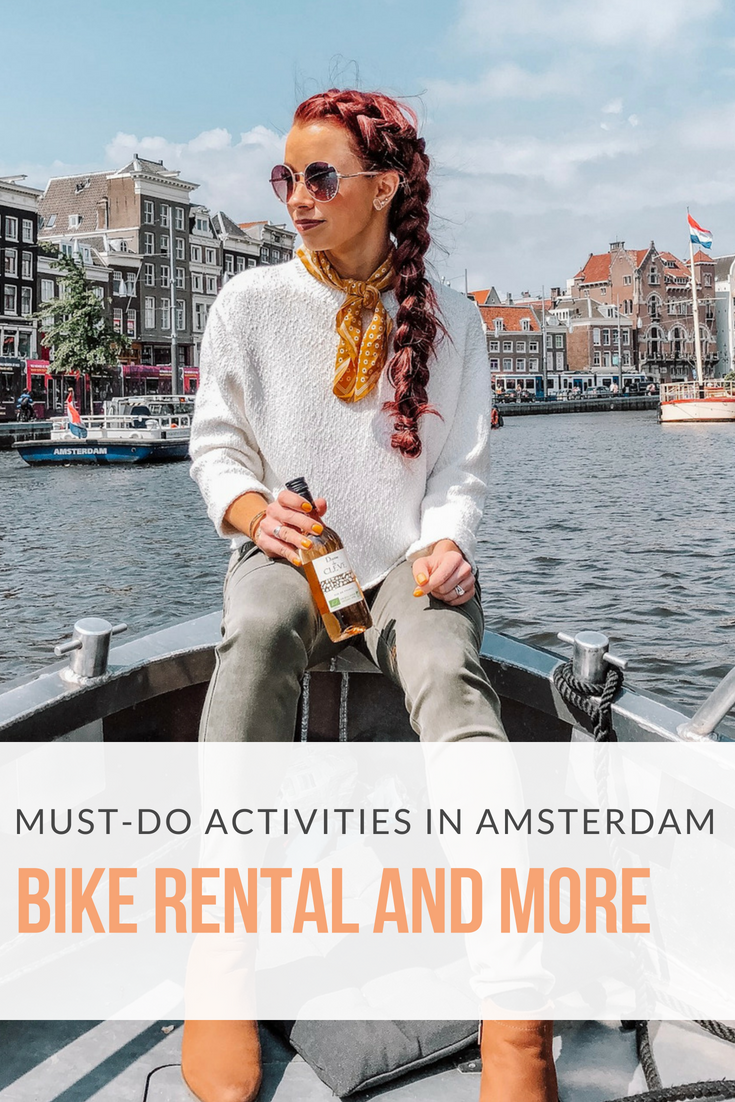 48 Hours in Amsterdam featured by popular Indianapolis travel blogger, Trendy in Indy