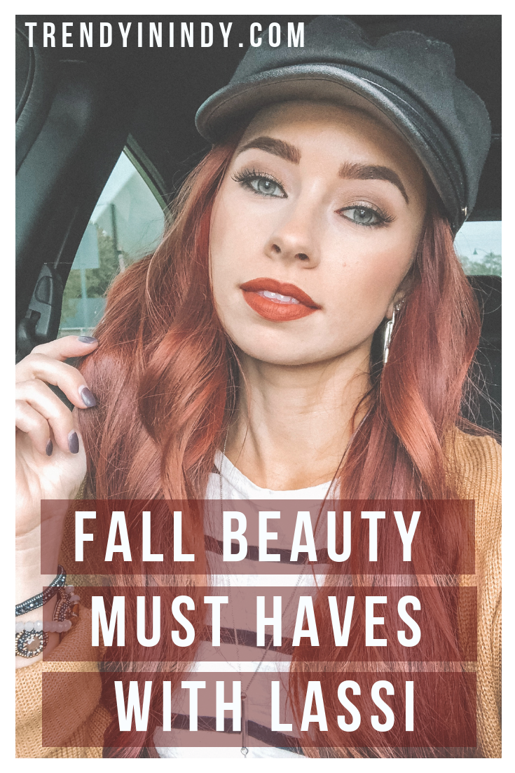 Fall Beauty Must Haves with LASSI featured by top Indianapolis beauty blog, Trendy in Indy