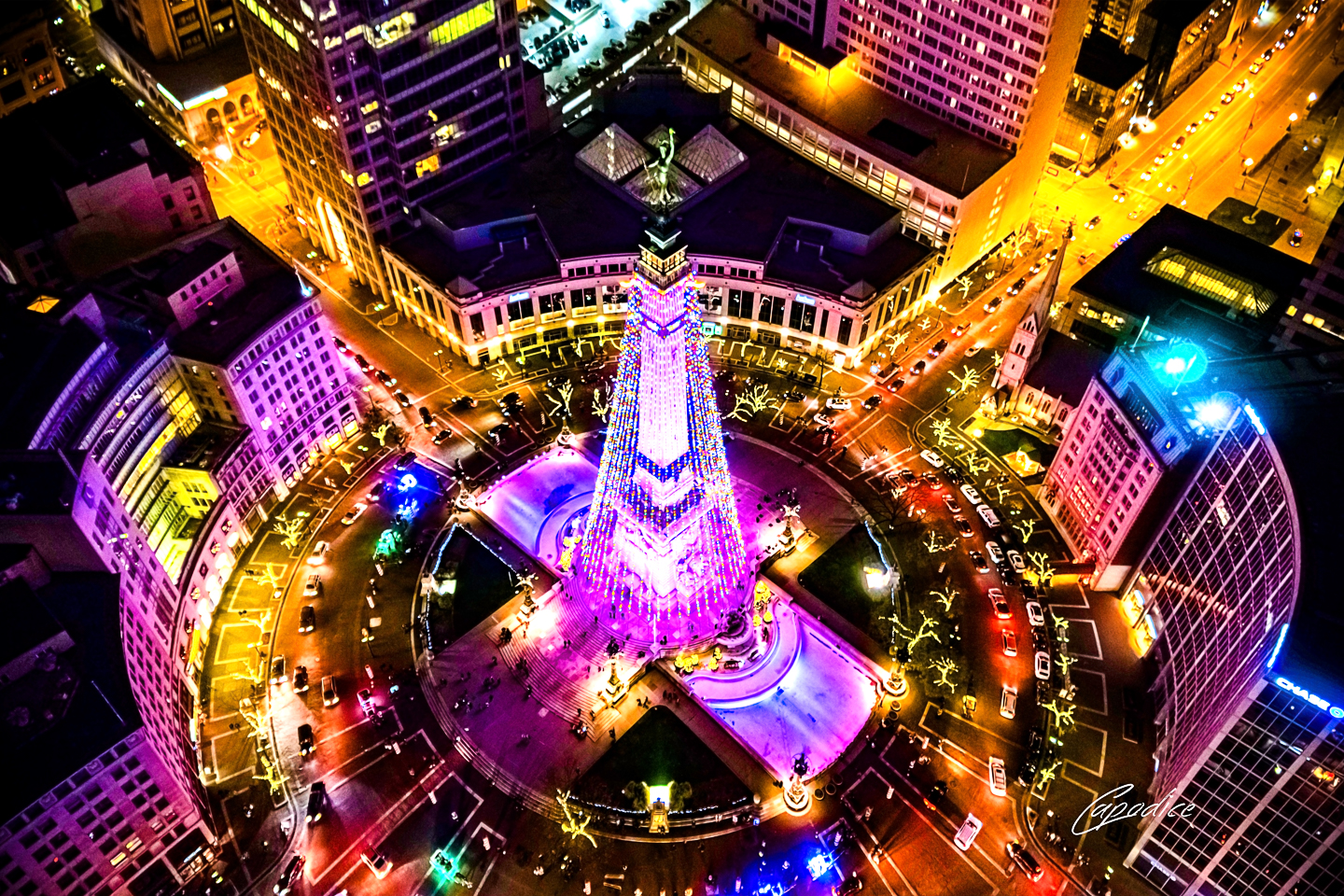 Shop small for the Holidays: 317 Aerials featured by top Indianapolis life and style blog, Trendy in Indy