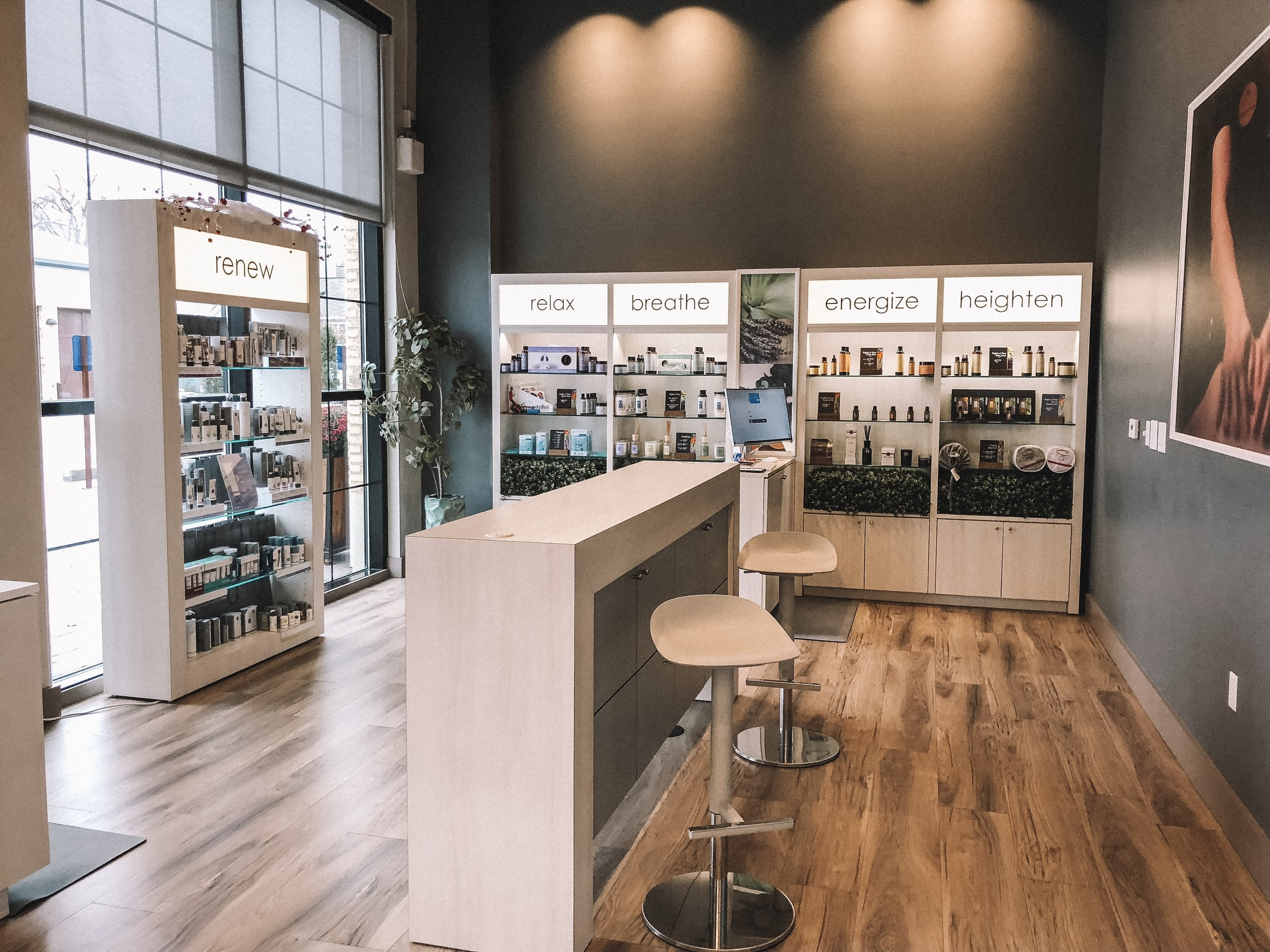 Shop small for the Holidays: Massage Heights featured by top Indianapolis life and style blog, Trendy in Indy