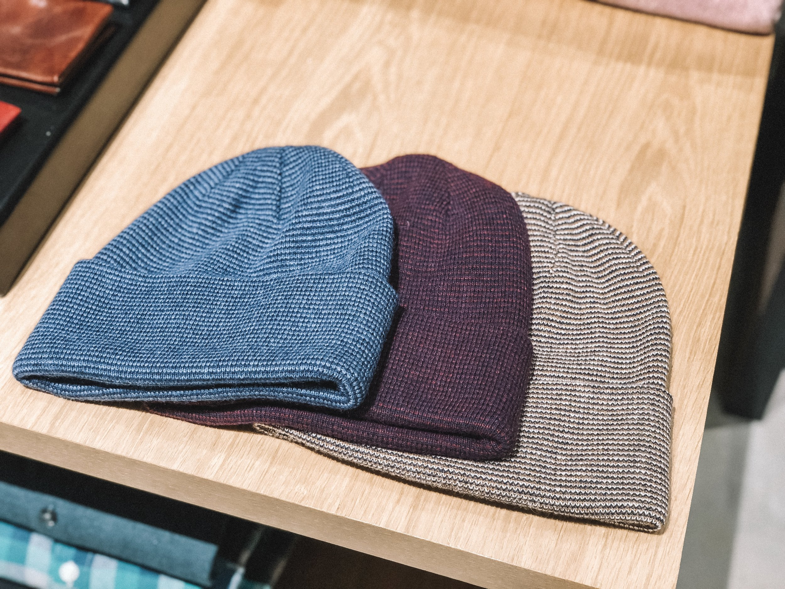 The Best Holiday Gifts for Men with Bonobos featured by top Indianapolis life and style blog, Trendy in Indy: image of beanie hats