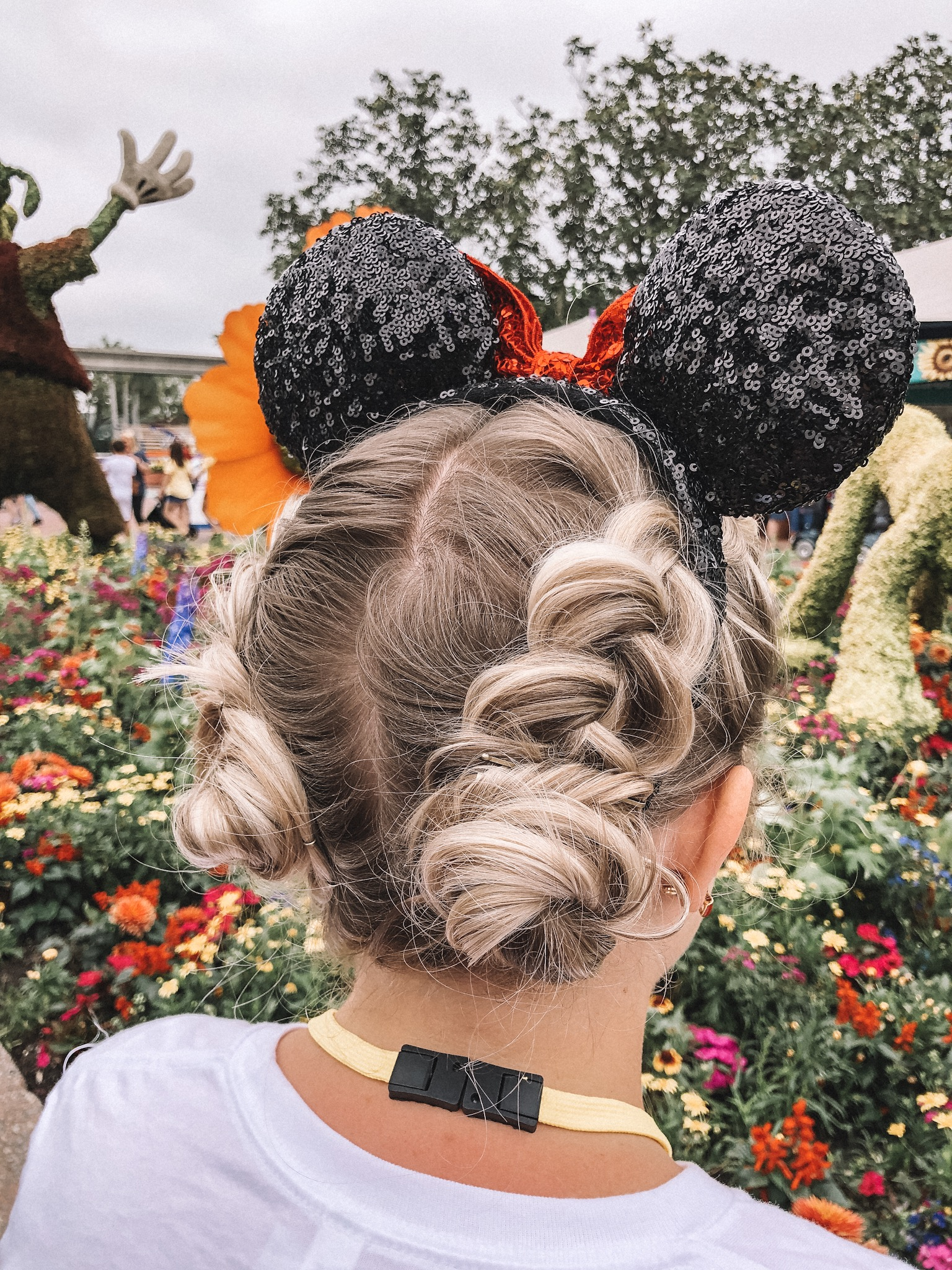 Top 5 Easy Hairstyles for Mickey Ears featured by top US beauty blog, Trendy in Indy