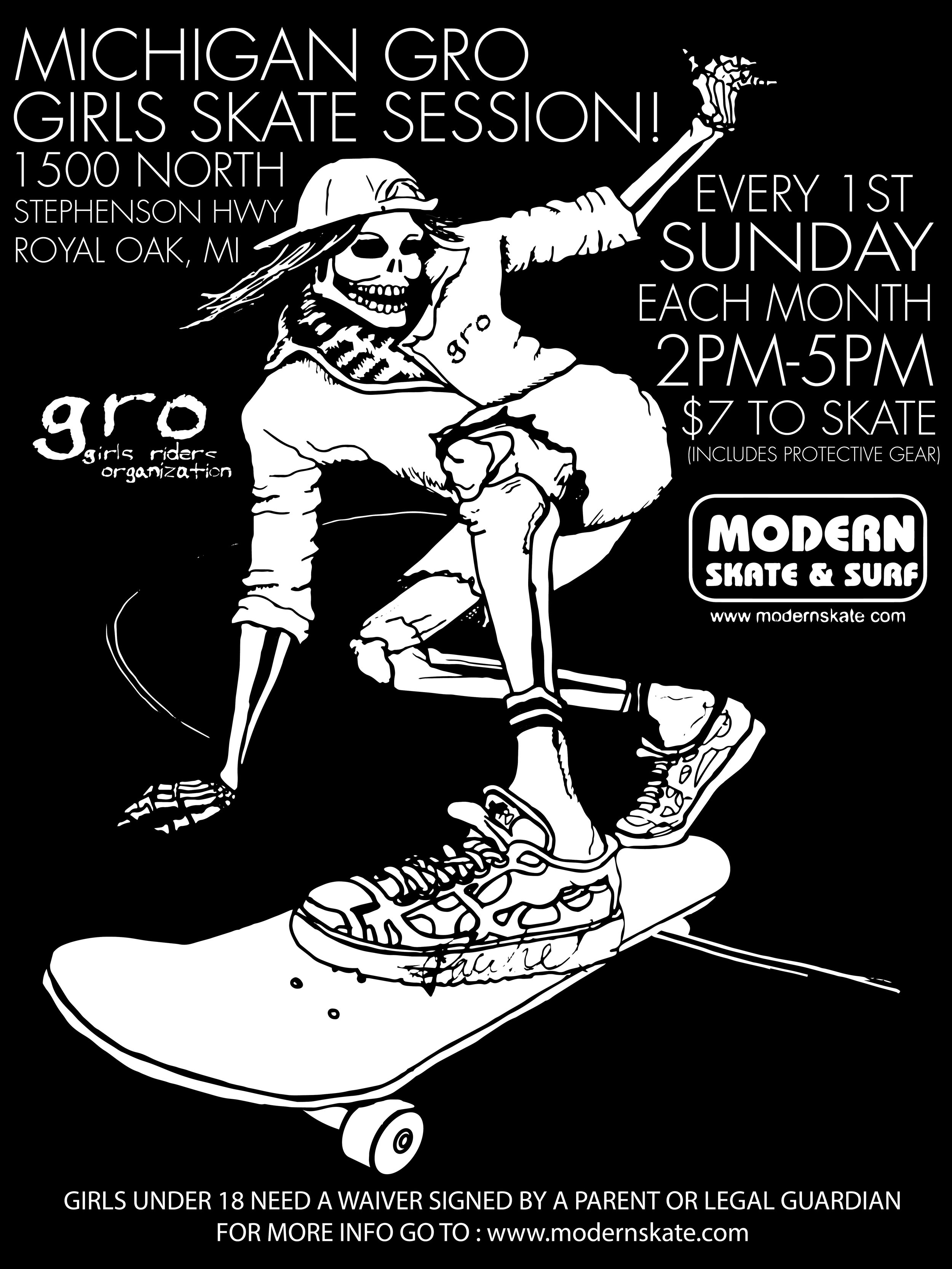 GRO_Skeleton_EVERY SUNDAY SKate_session_white on BLACK_KILL'N IT_FINAL-01.jpg