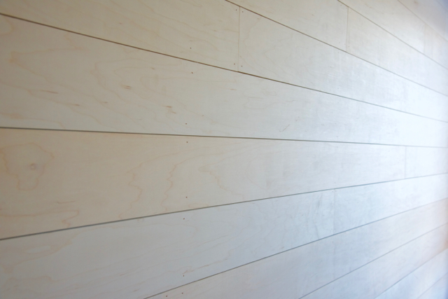 Now it's time to fill those nail holes with wood spackle, but again depending if you want the panels to look aged and distressed, You can just leave the nail hole exposed. I went with filling the nail holes for a more polished contemporary farmhouse style look.