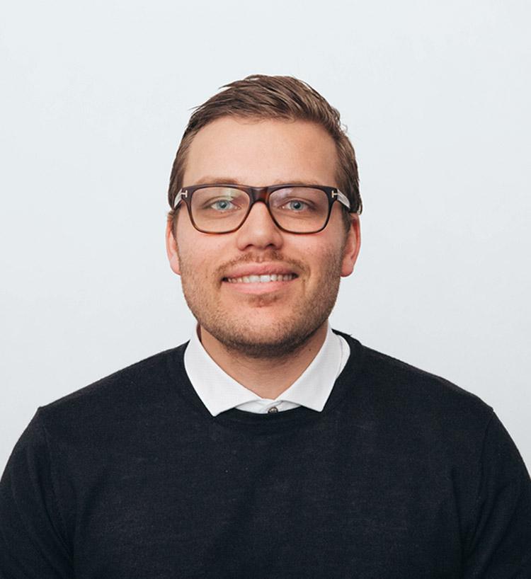 <b>Kristian <br>Friis</b><br><br>Head of Business <br>Development