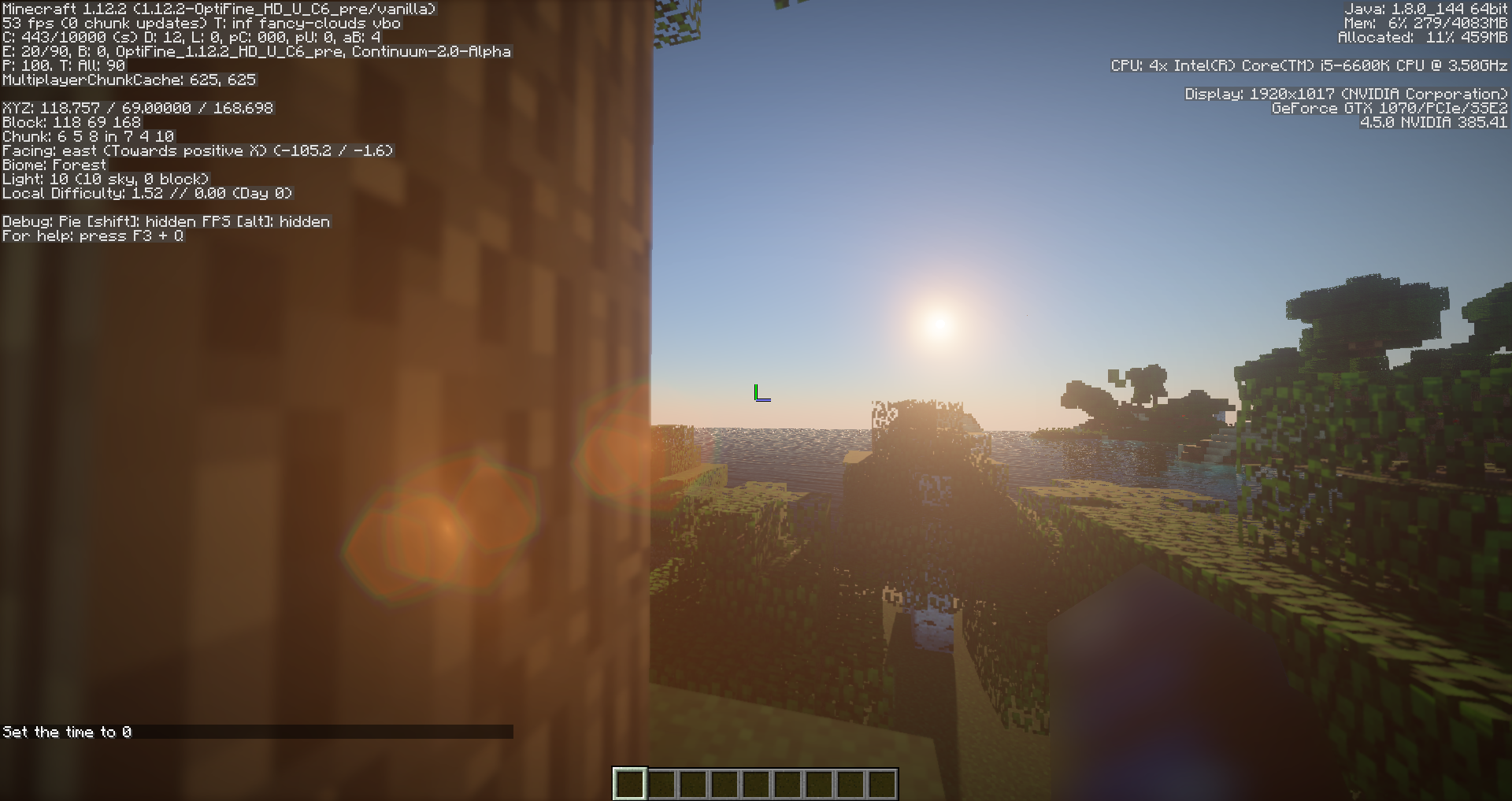This is the FPS at which volumetric clouds are disabled
