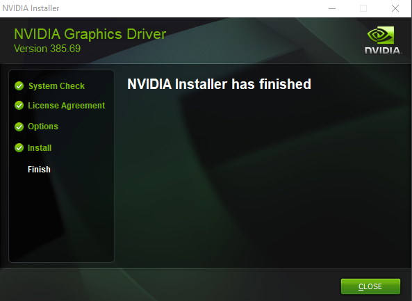 Graphics card is now updated and ready for shaders