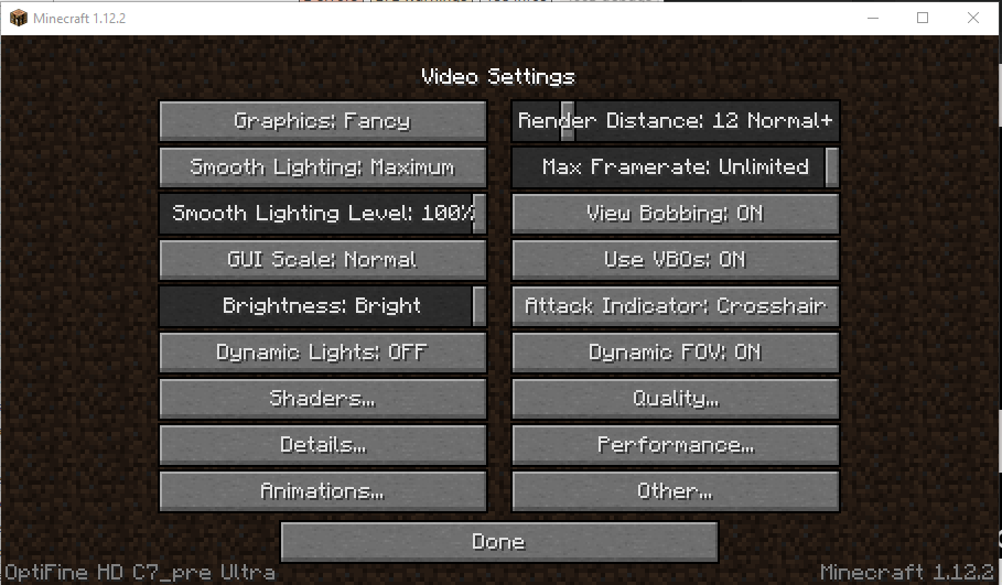 Opening Minecraft and going into Options>Video settings should show the version of Optifine installed, Indicating Optifine has been installed correctly