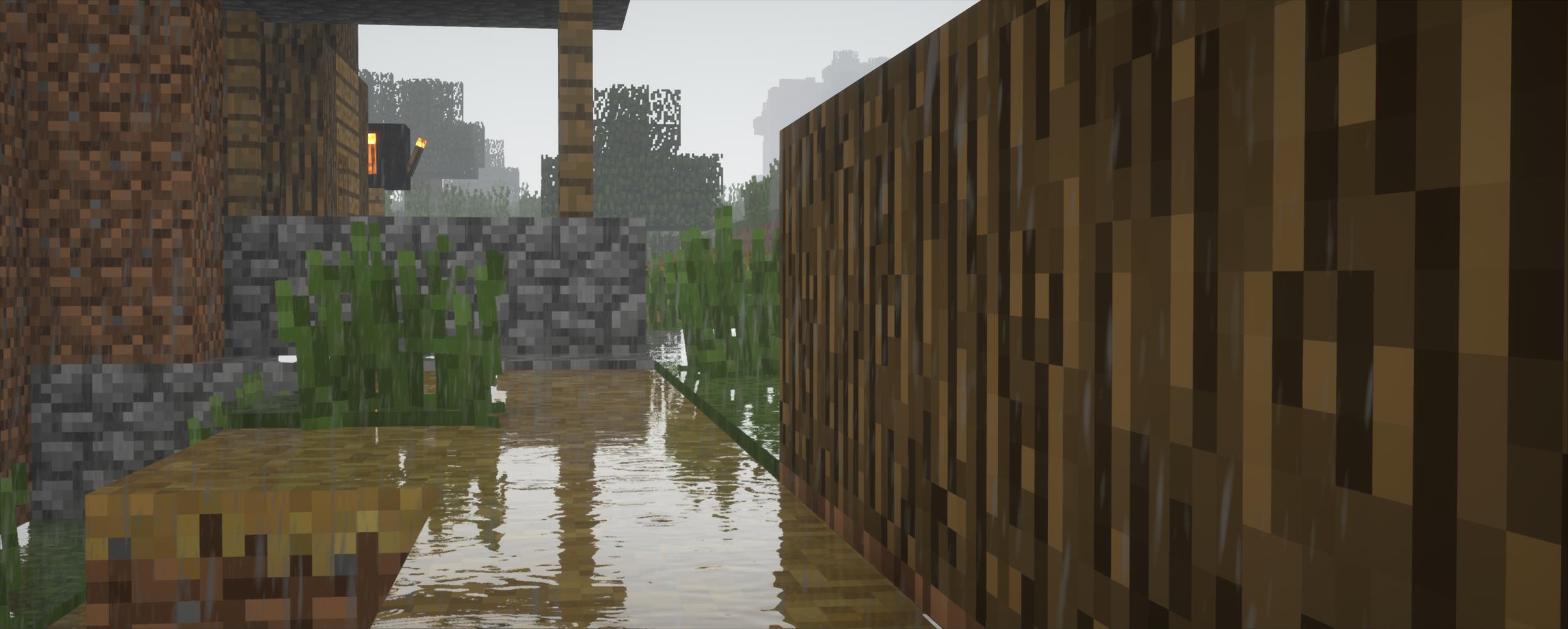 Rain texture, pretty self explanatory change.