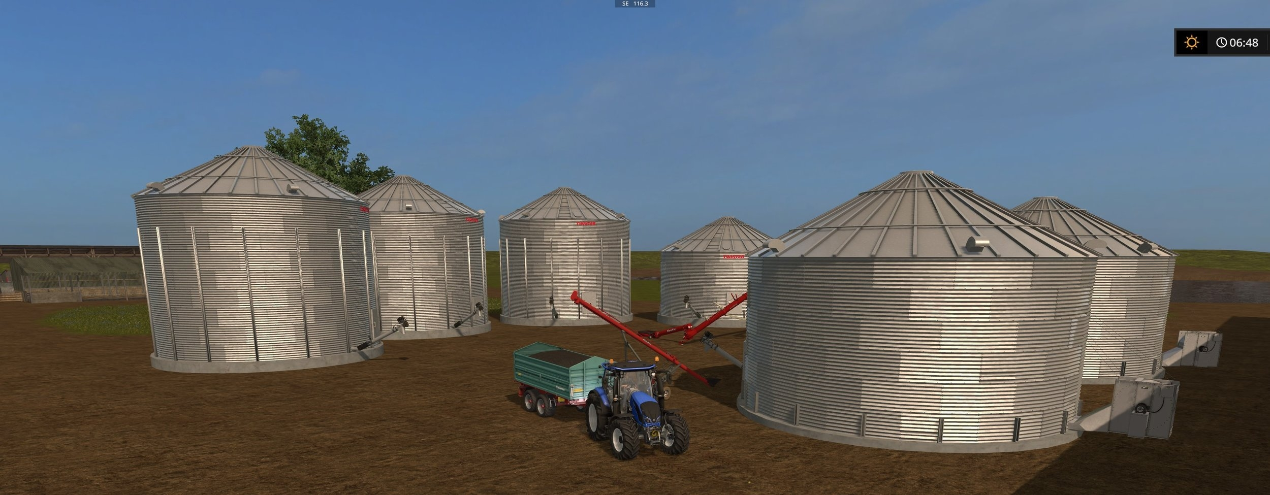 Twister silos and Farmking augers