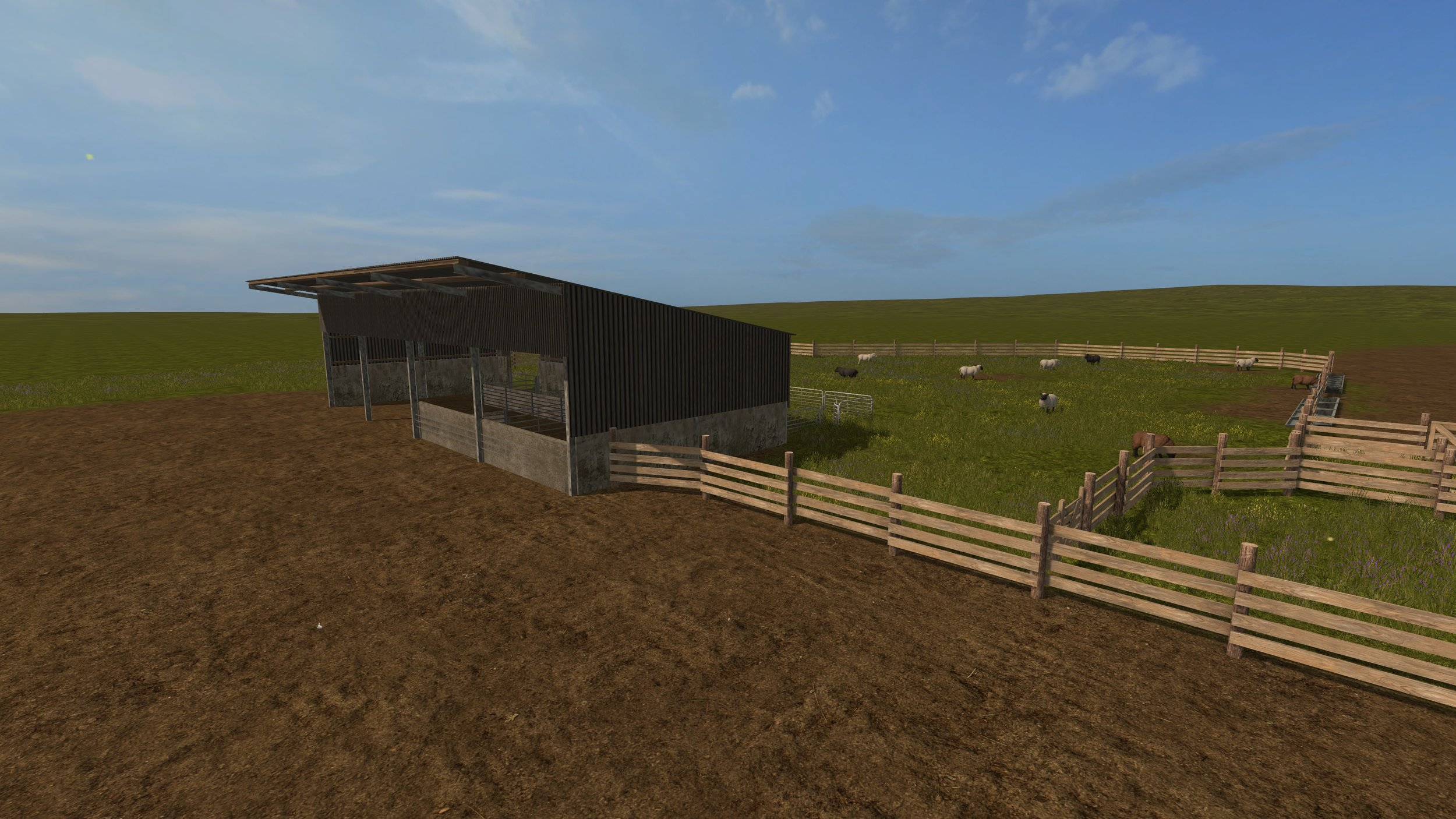 Sheep enclosure