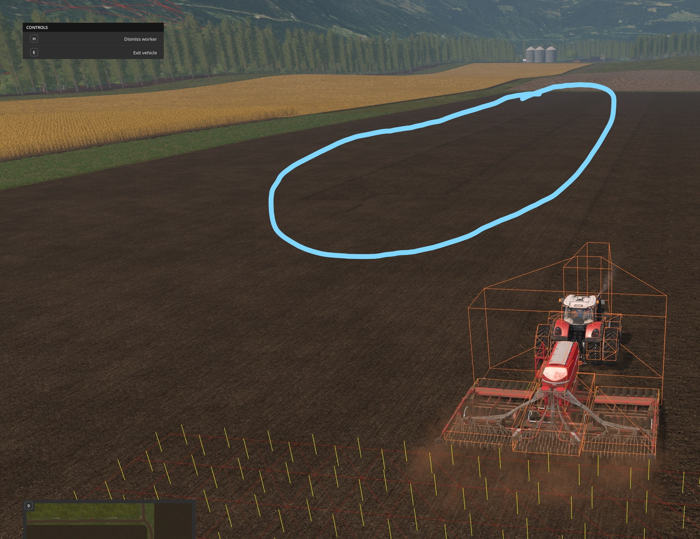 The Helper AI doesn't much care for this section of Field 10