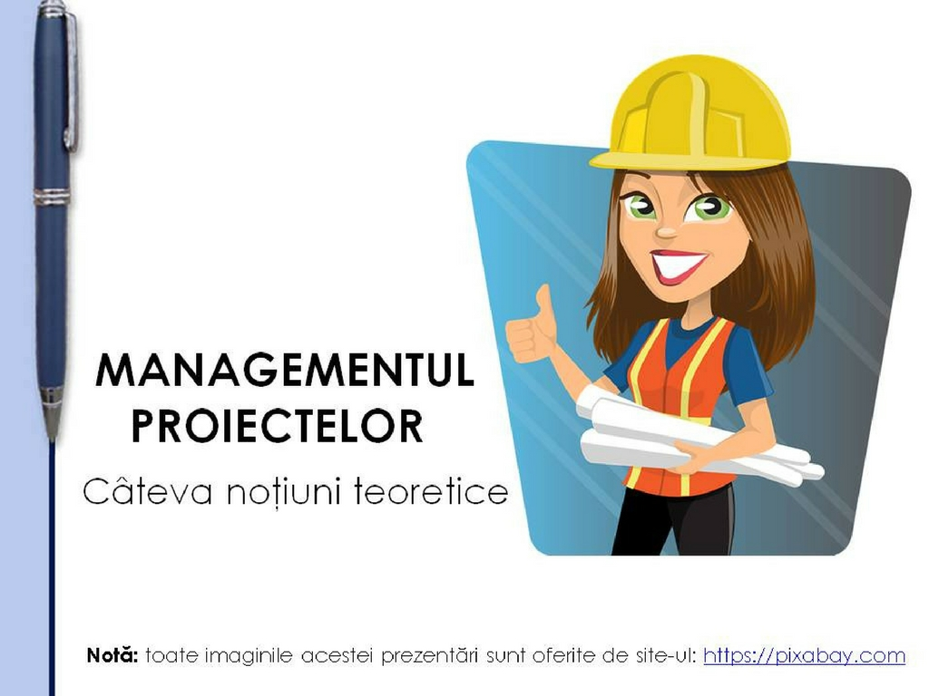 Managementul proiectelor-notiuni generale -T&C'n Business