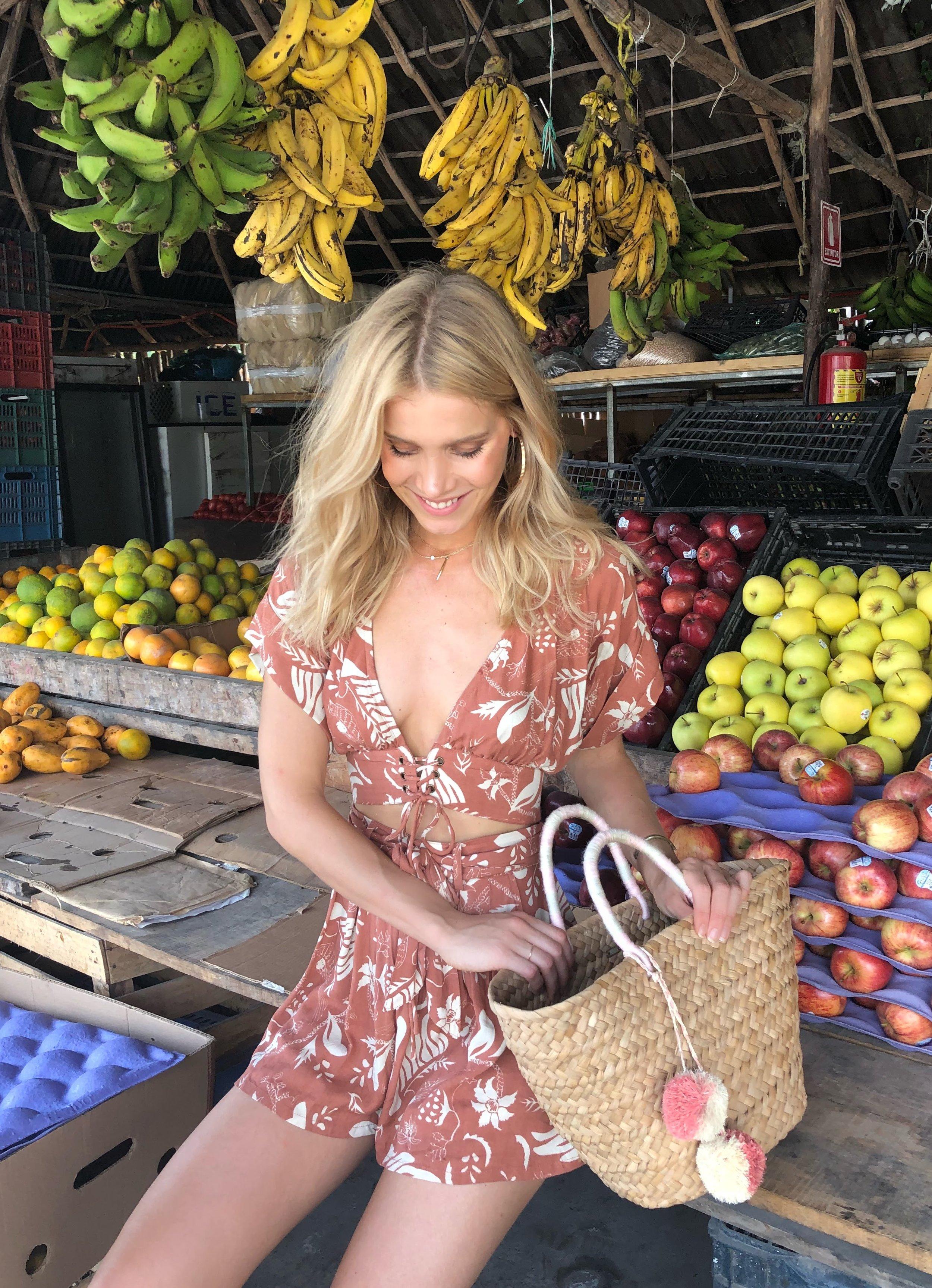 Boho Passport Tulum fruit