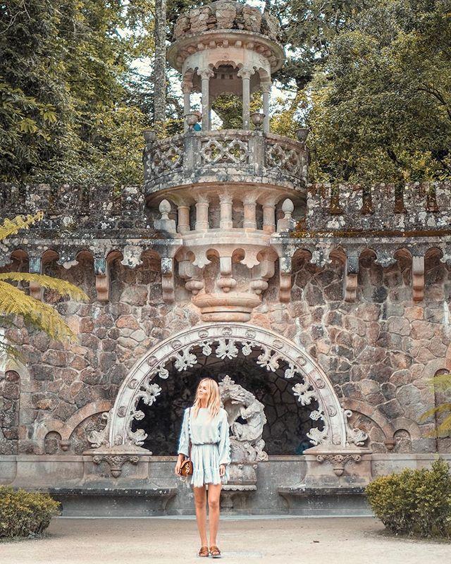 Where the magic happens! Sintra outside of Portugal is one of the most magical places I've visited so far this year. Can't wait to go back! ✨ . . . . #travel #TLPicks #LoveTheWorld #wonderful_places #dametraveler #mytinyatlas #exploringtheglobe #fromwhereistand #darlingescapes #travelstoke #wearetravelgirls #sheisnotlost #stayandwander #bohopassport #traveldeeper #girlslovetravel #gltLOVE #traveleroftheweek #travelblogger #openmyworld #quintadaregaleira #ladiesgoneglobal #speechlessplaces #sintra #portugal #exploreportugal #visitportugal