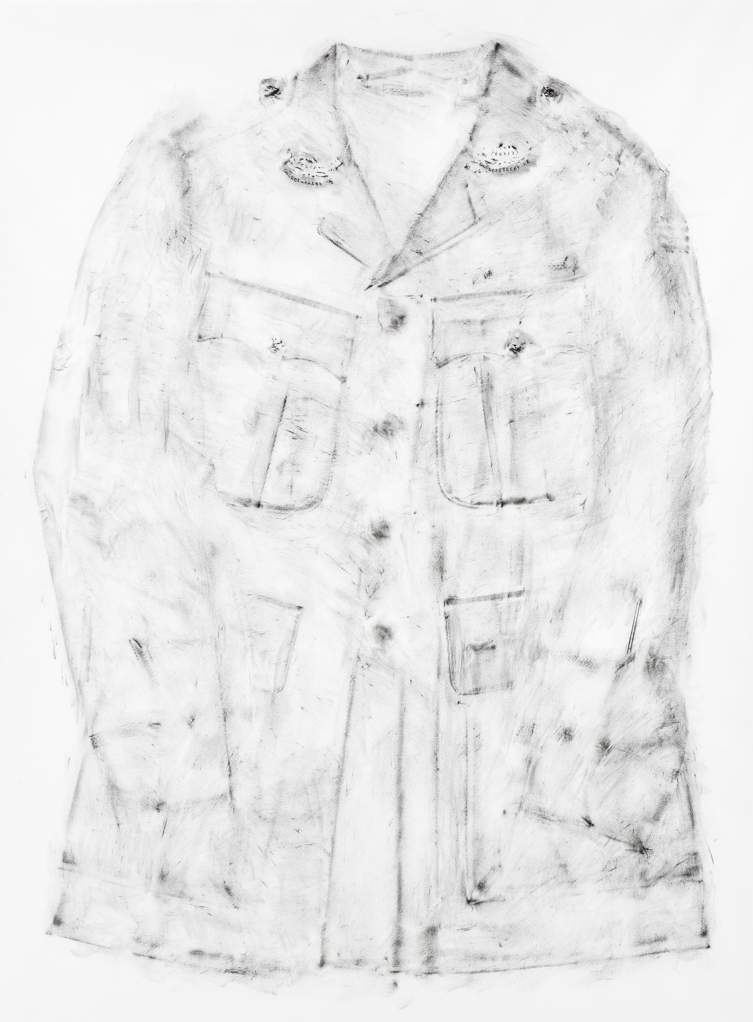 Rawlins 1918, 2011, 109 x 85, Graphite impression.