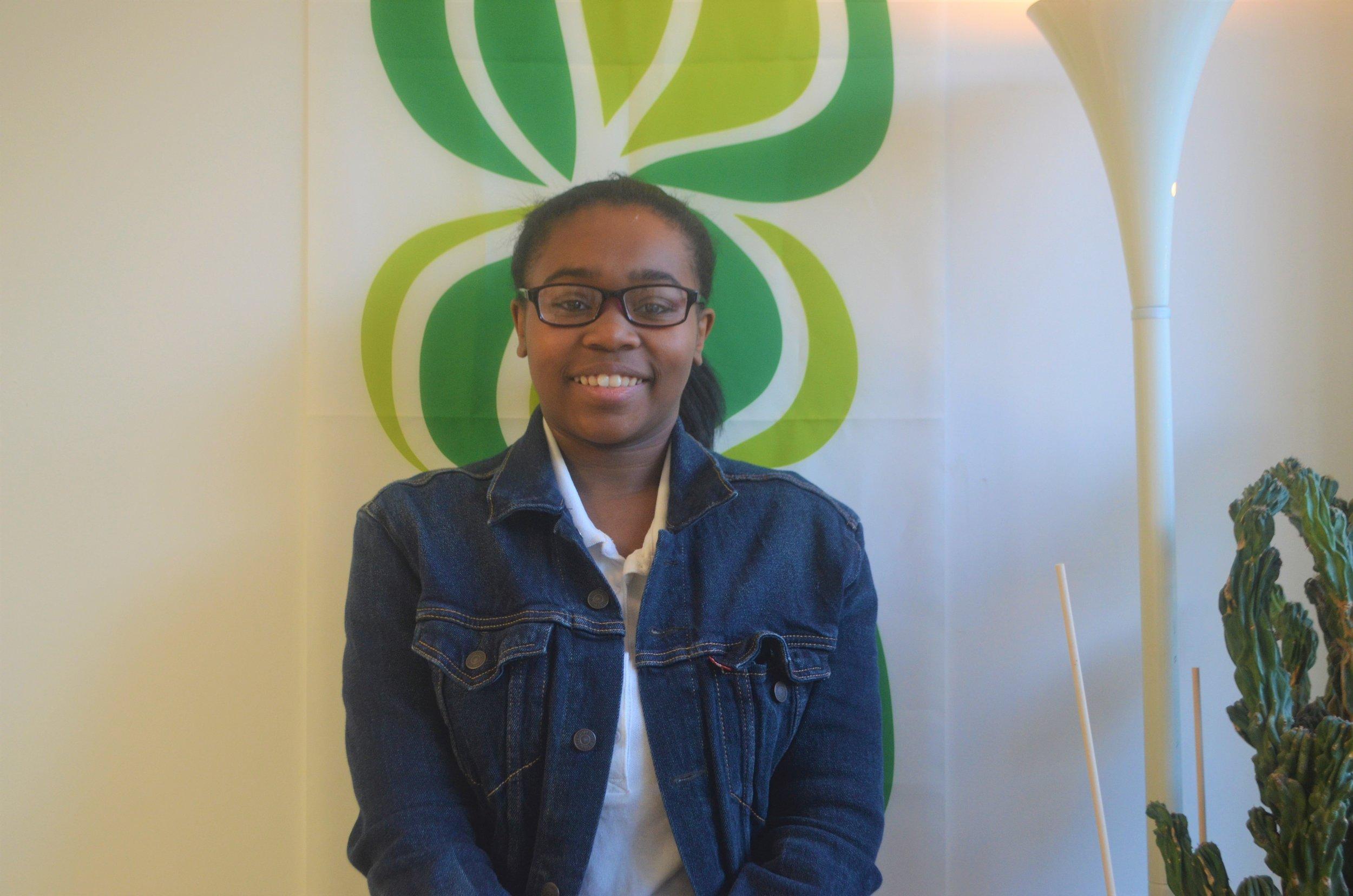 Mia Grace    My name is Mia Grace. I'm a Freshmen and I attend Fairchild Wheeler.