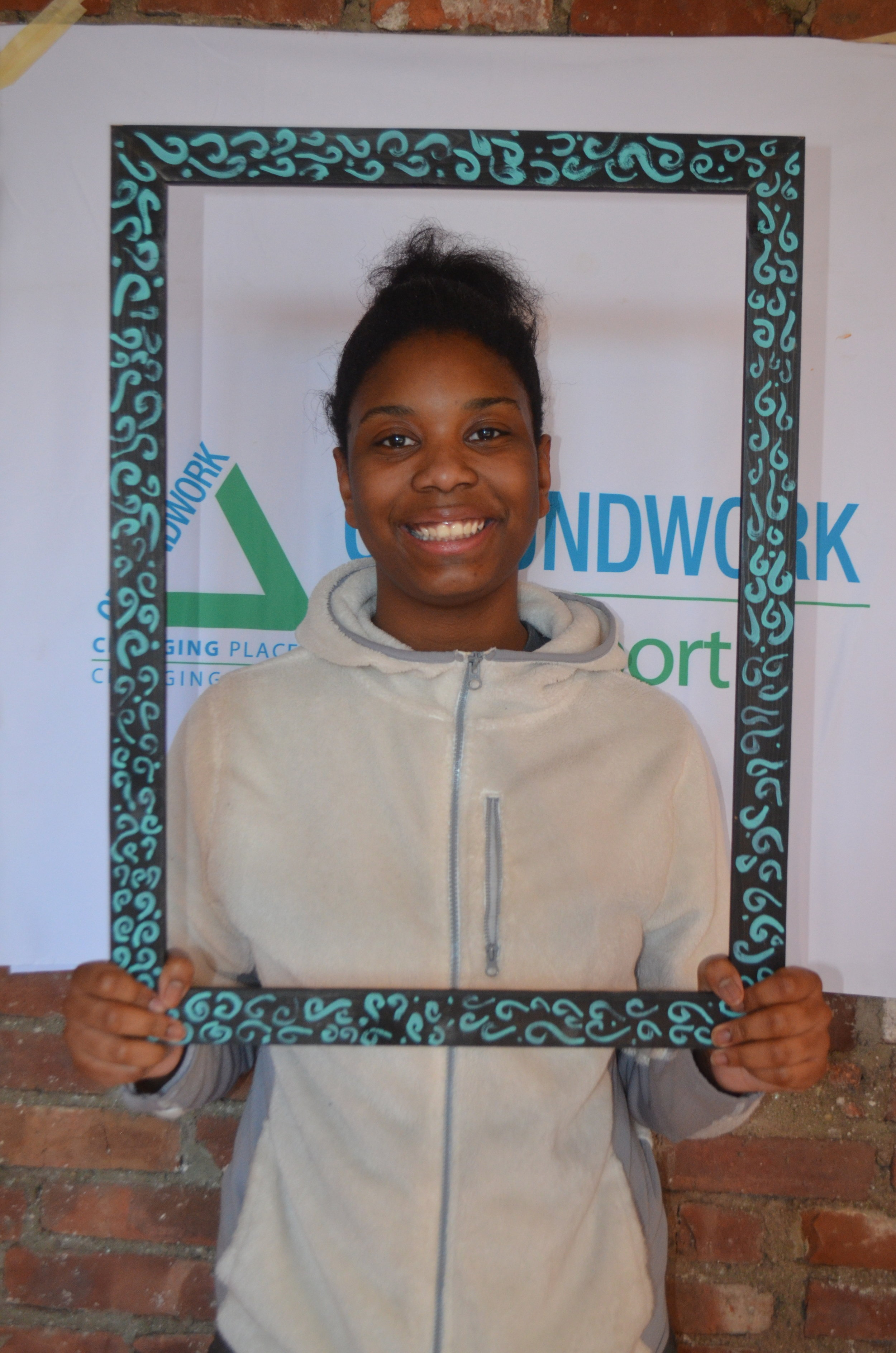 """Nyjah Jenkins  Hello! My name is Nyjah, but some people call me """"Ny"""" for short. I'm 14 years old and LOVE dogs! I actually have one that's a pit/brezzy mix. I go to Fairchild Wheeler and live on the Westside of Bridgeport. When I meet new people I'm shy at first, but once you get to know me I'm pretty funny. I love helping my mom cook and spend time with my 6 sisters, nieces, and little nephew."""