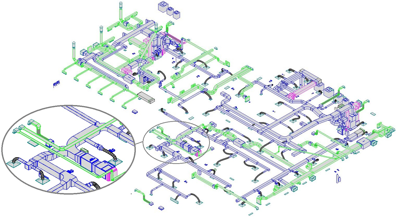3D HVAC Designs