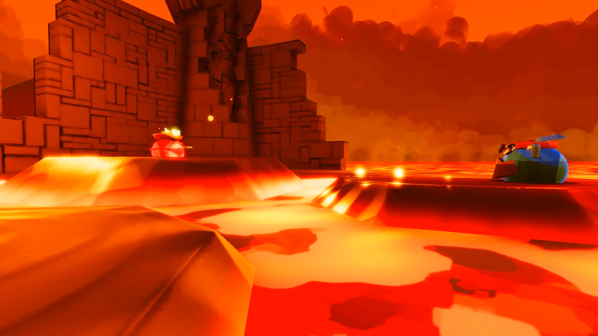 The Blobs Fight gameplay screenshot 2