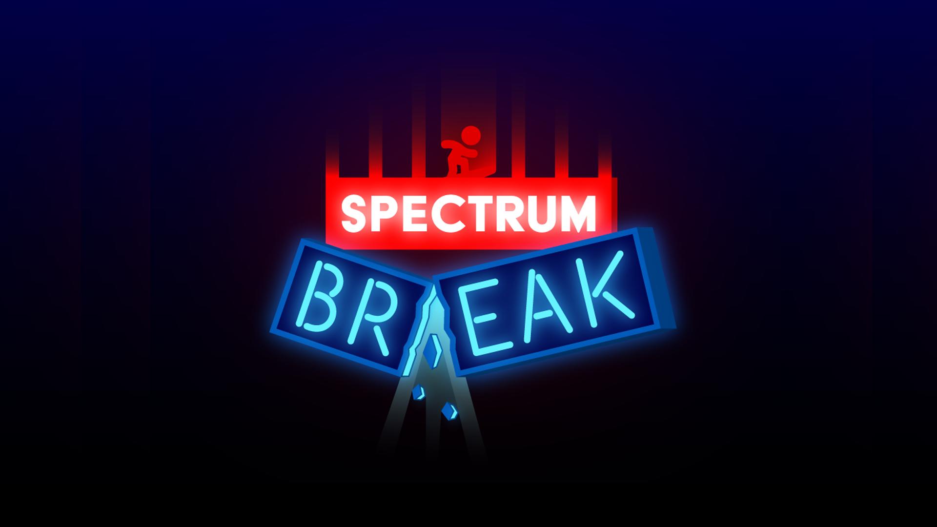 Spectrum break branding   graphic design