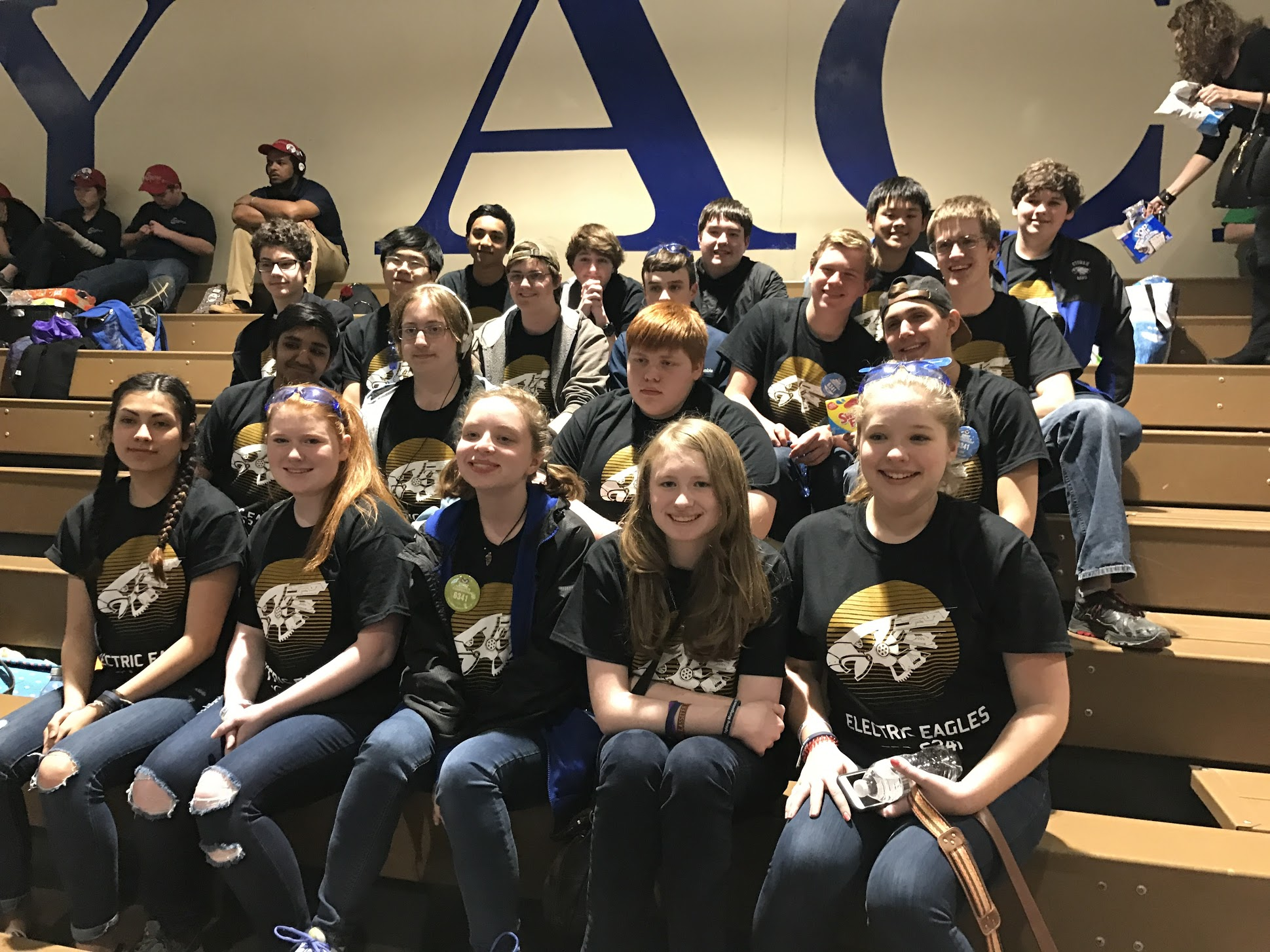 2016 - 17 Etowah Electric Eagles robotics team.