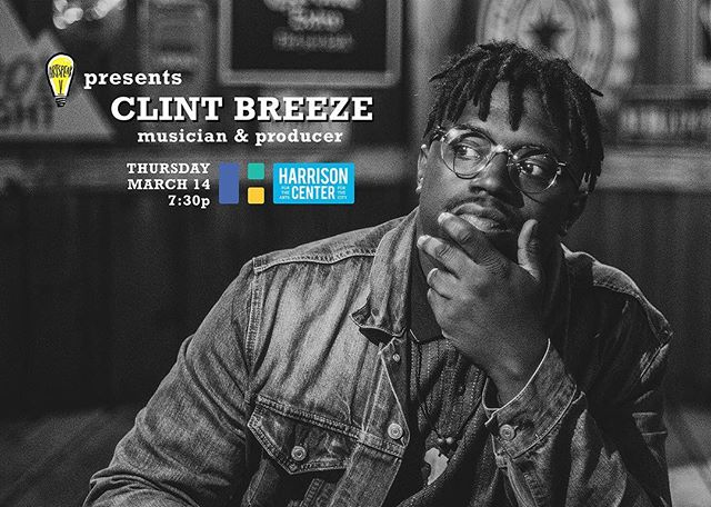 There's  N O  W A Y  y'all are ready for this.  This March, we're thrilled to welcome @clintbreeze4prez to the ArtSpeak Presents stage. Known throughout Indianapolis as a drummer and producer, Breeze is also the mastermind behind Indy hip hop/jazz all-star act, @clintbreezeandthegroove (with ArtSpeak Alumni, Pernell from Pike [formerly known as Theon Lee] as its frontman). So cancel all your plans, tell all your friends, and we'll see you at the @harrisoncenterarts on March 14th!  #artspeakindy #art #arts #music #jazz #hiphop #drummer #clintbreeze #clintbreezeandthegroove #indianapolis #indy #amplifyart #indyartscene