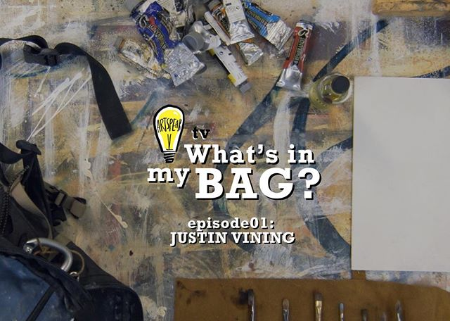 "Ever wonder what artists take with them on a daily basis? Well, wonder no more!  Today, we're proud to launch a video series called, ""What's in my Bag?"" as part of ArtSpeak TV, our newest in a growing line of media initiatives! To kick things off, we're featuring last month's ArtSpeak Presents guest, @justinvining! Link is in our bio!  As part of our commitment to Amplify Art, we promise to create fresh video content every month, so don't forget to subscribe to our YouTube channel!  #artspeakindy #art #arts #video #film #youtube #artspeaktv #painting #pleinair #indianapolis #indy #amplifyart"