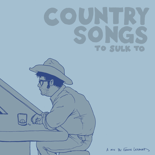 Country Songs To Sulk To. A limited edition mix CD of country songs, given away as a special gift to returning fans at The Alternative Press Expo 2014.