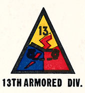 13th Armored Division