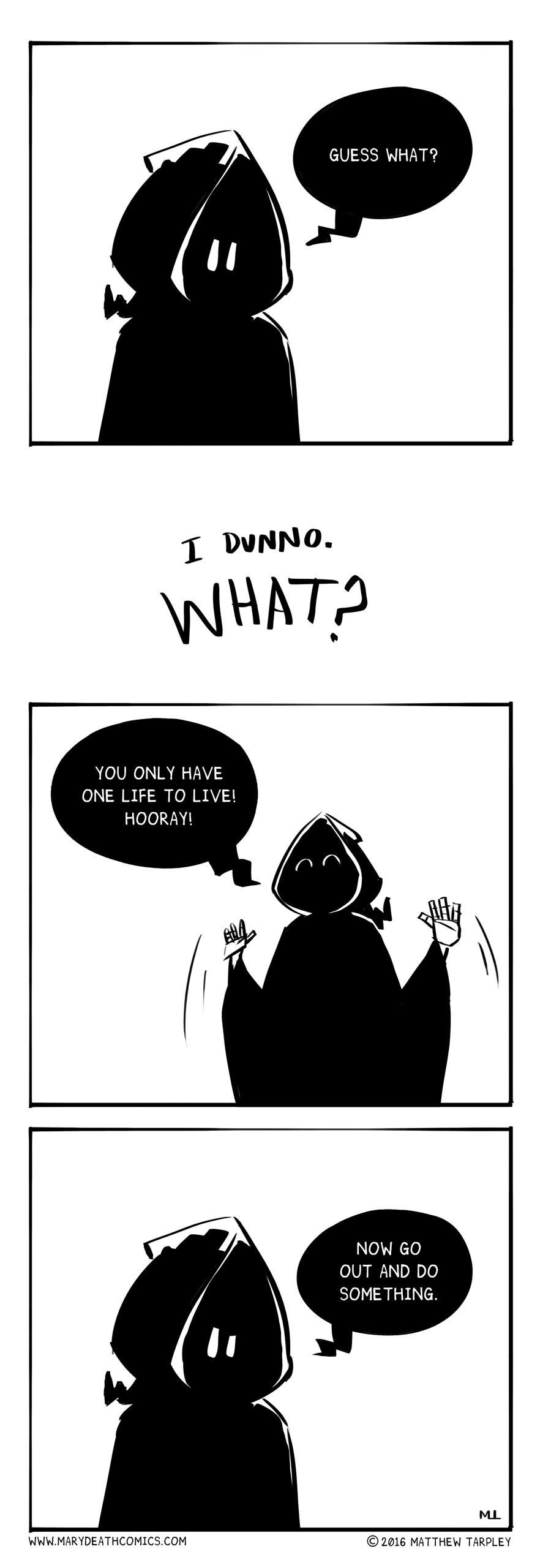 Mary Death - marydeathcomics.com