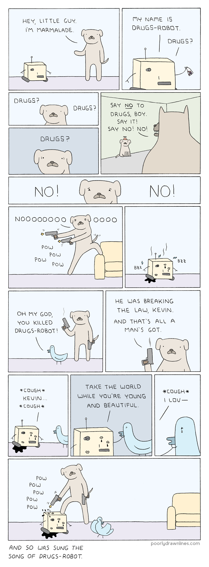 Poorly Drawn Lines -  PoorlyDrawnLines.com