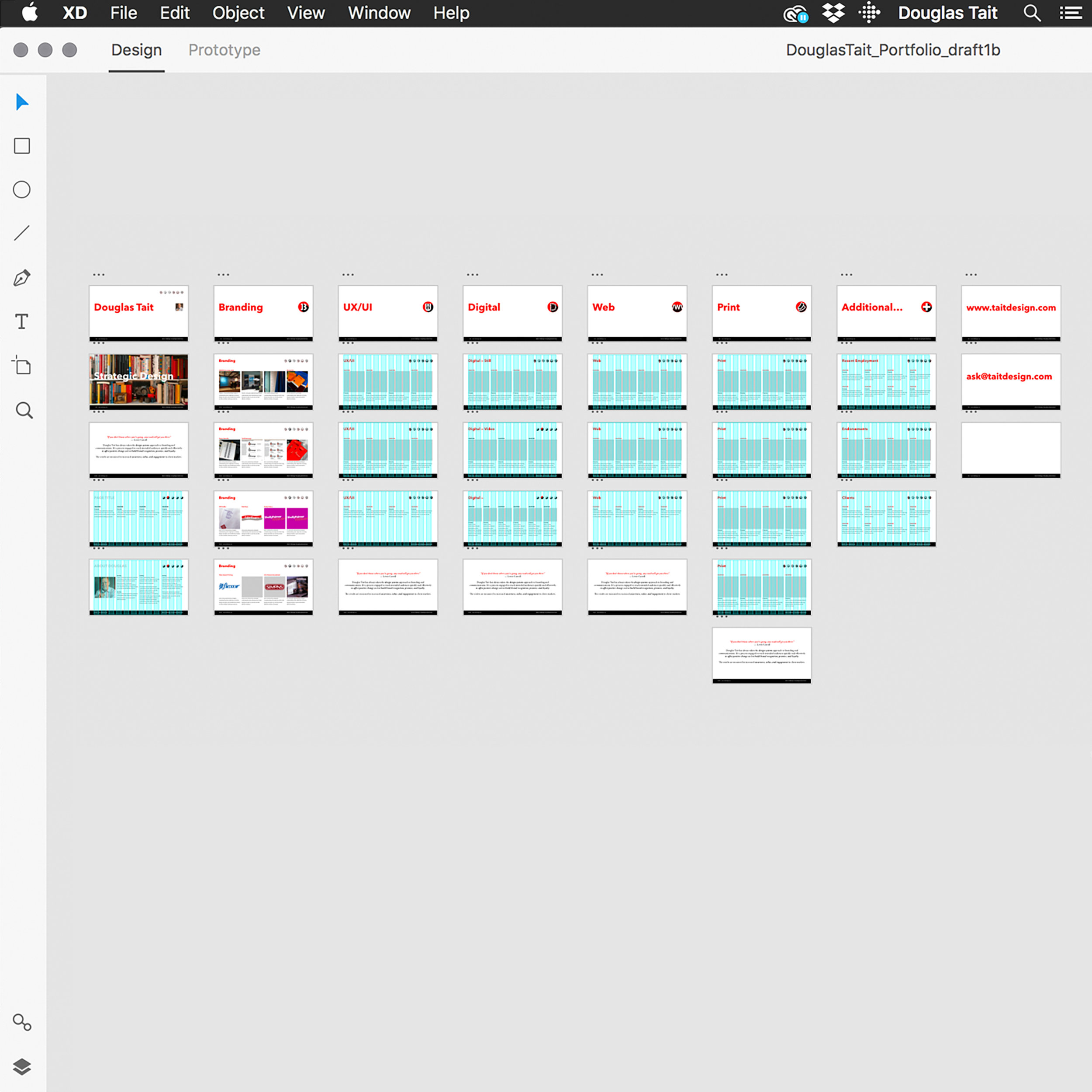 UX Wireframe 1