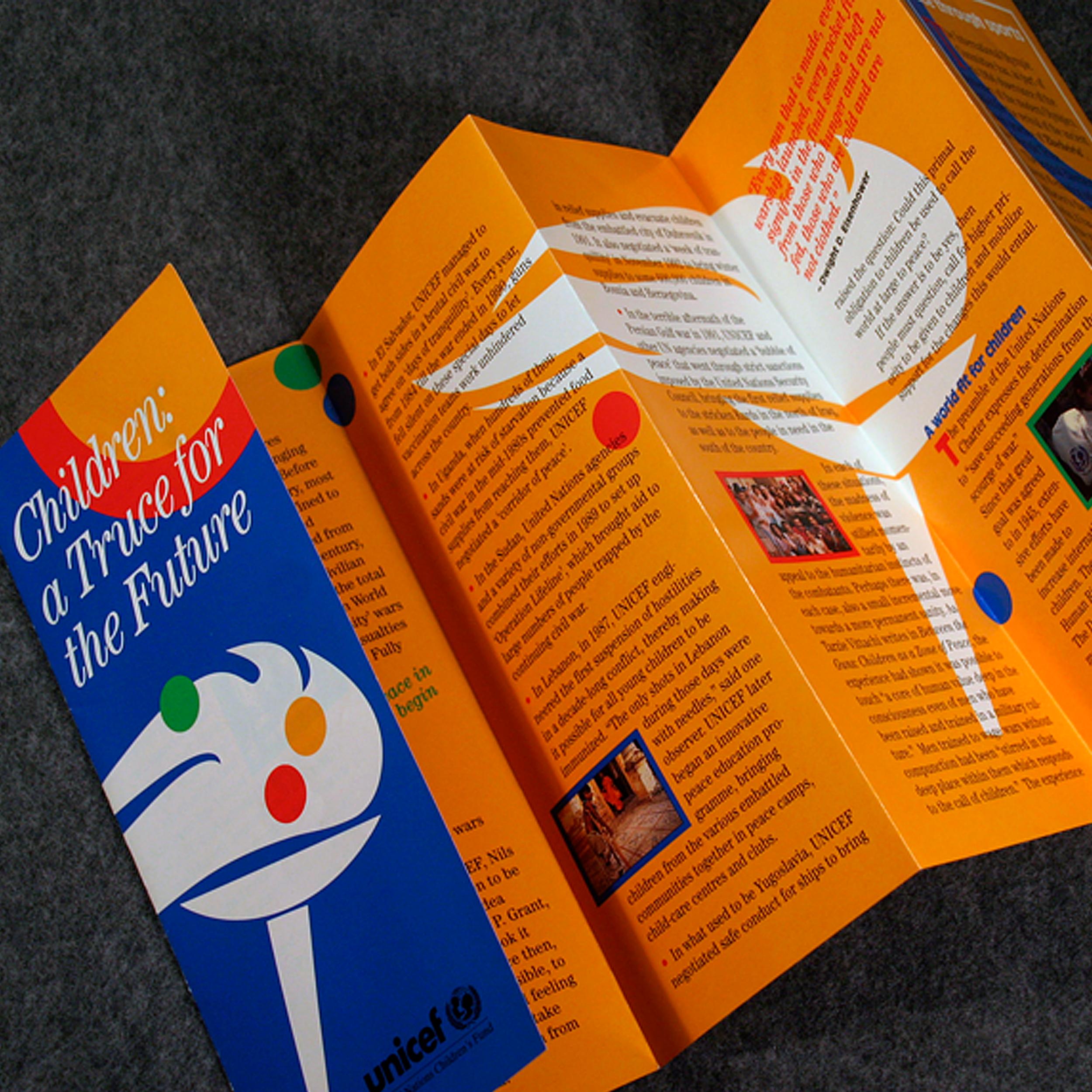Brochures, 1991–1997, design work of Kelleher & Tait Design Group, Inc.